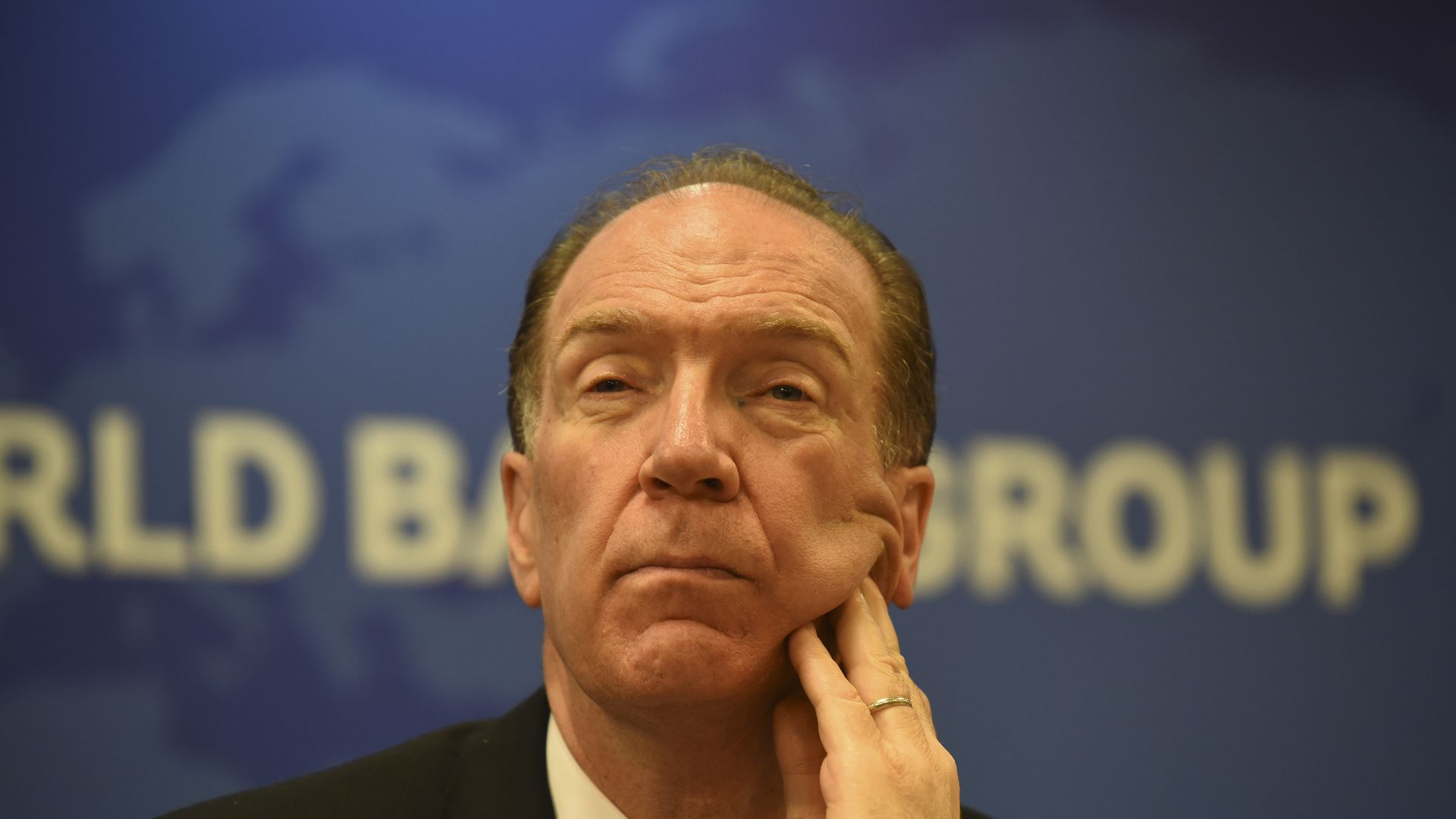 World Bank President David Malpass.