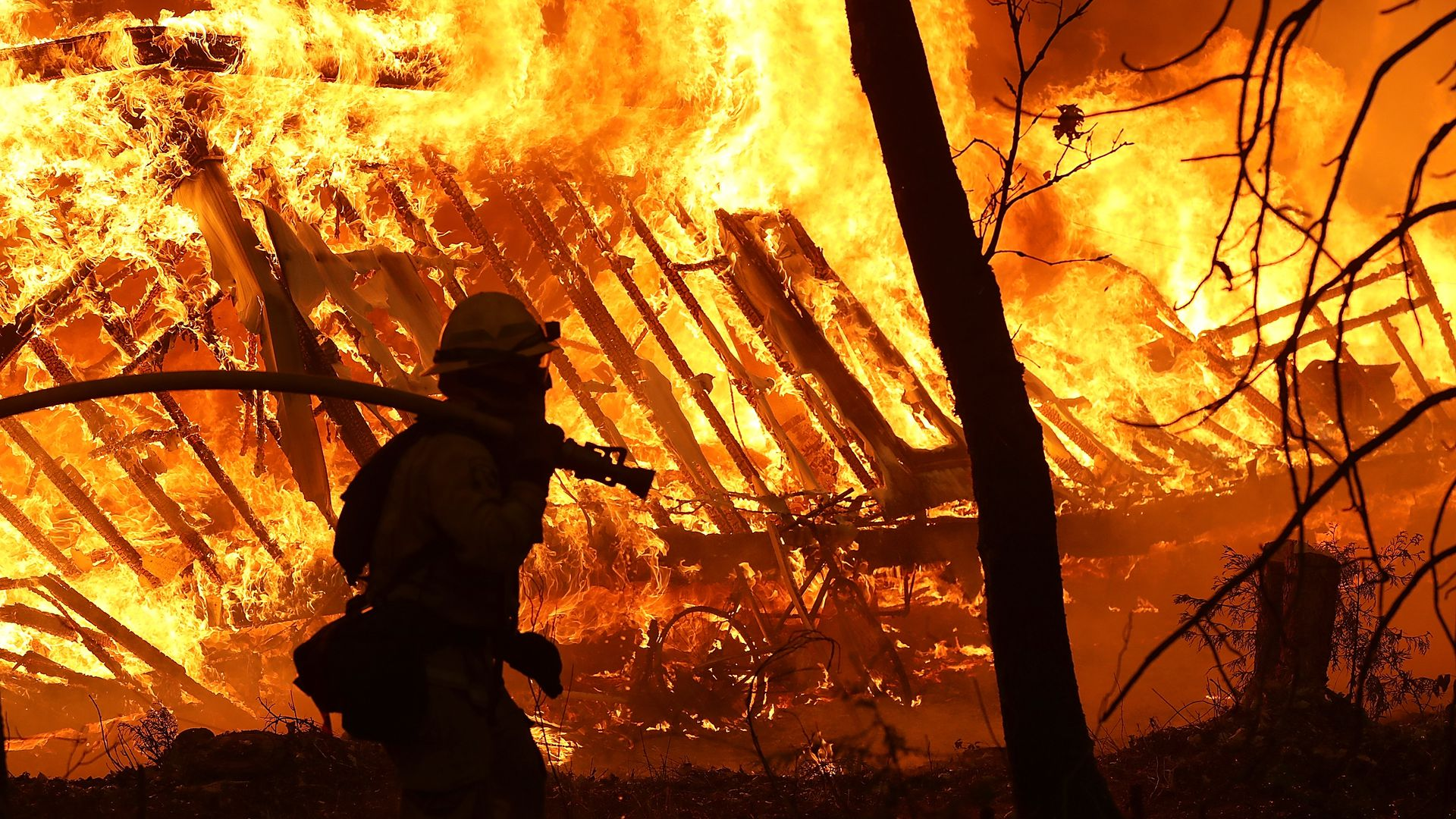 See the devastation left by California's most destructive wildfire