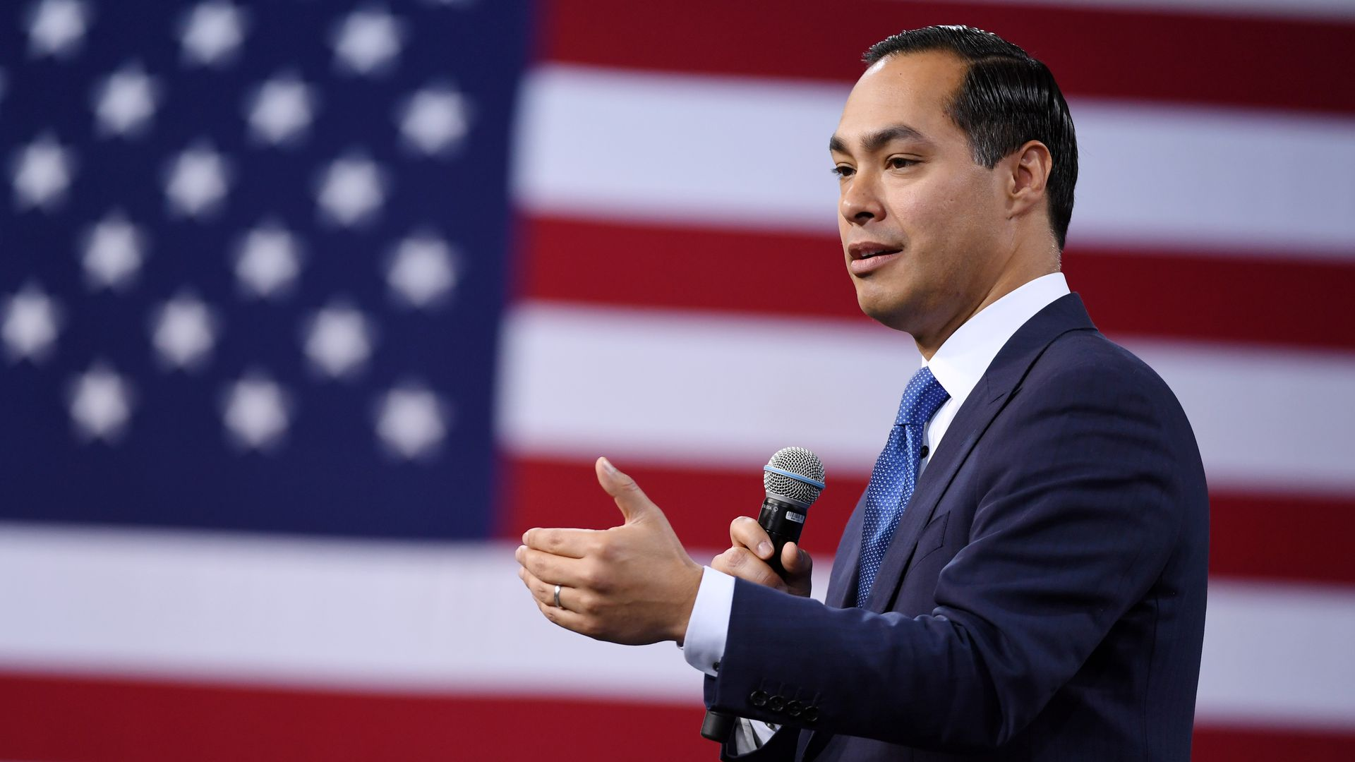 Presidential candidate Julian Castro