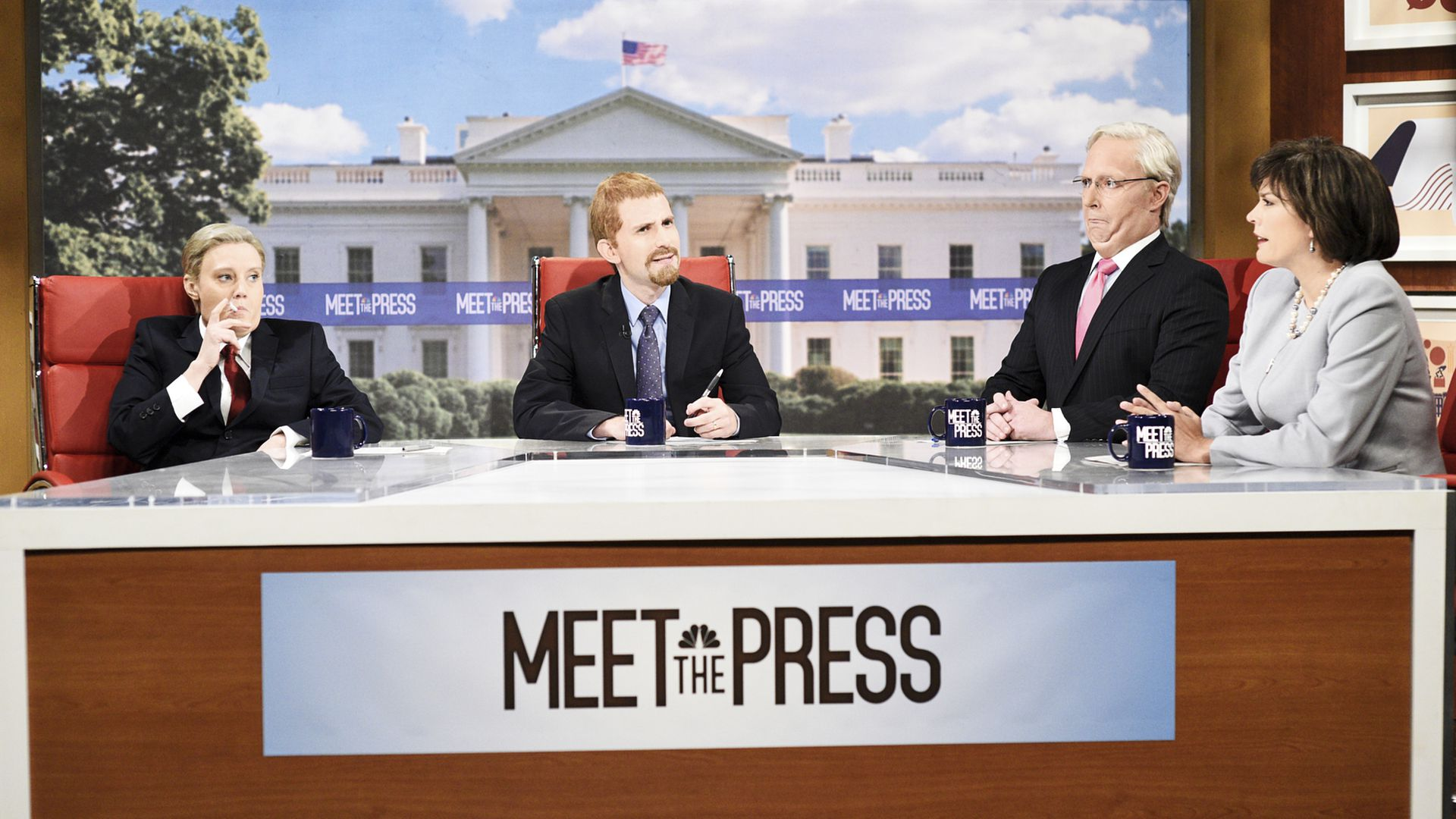 """""""SNL"""" asks what it'd take for the GOP to dump Trump in """"Meet The Press"""" spoof"""
