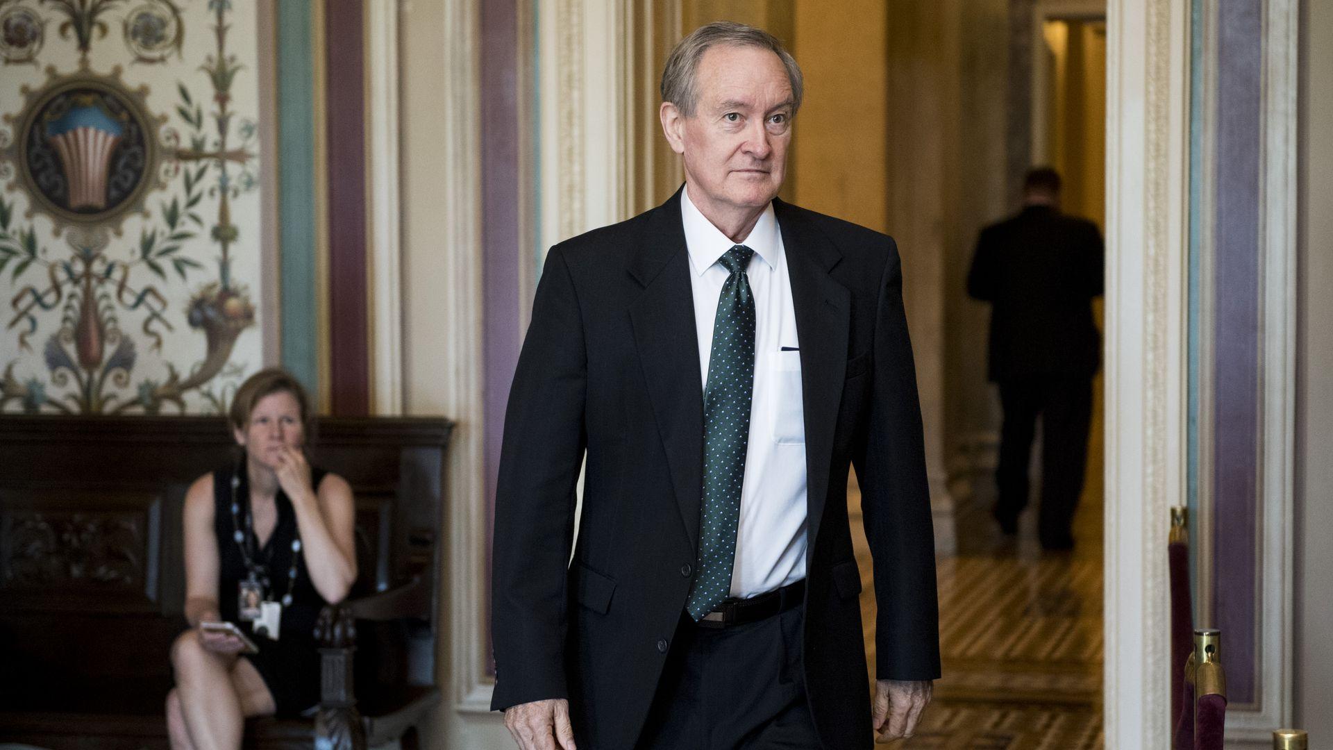 Republican blocks election-meddling bill