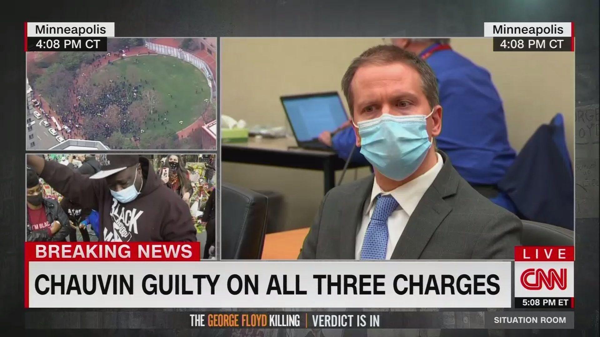 Screenshot of CNN