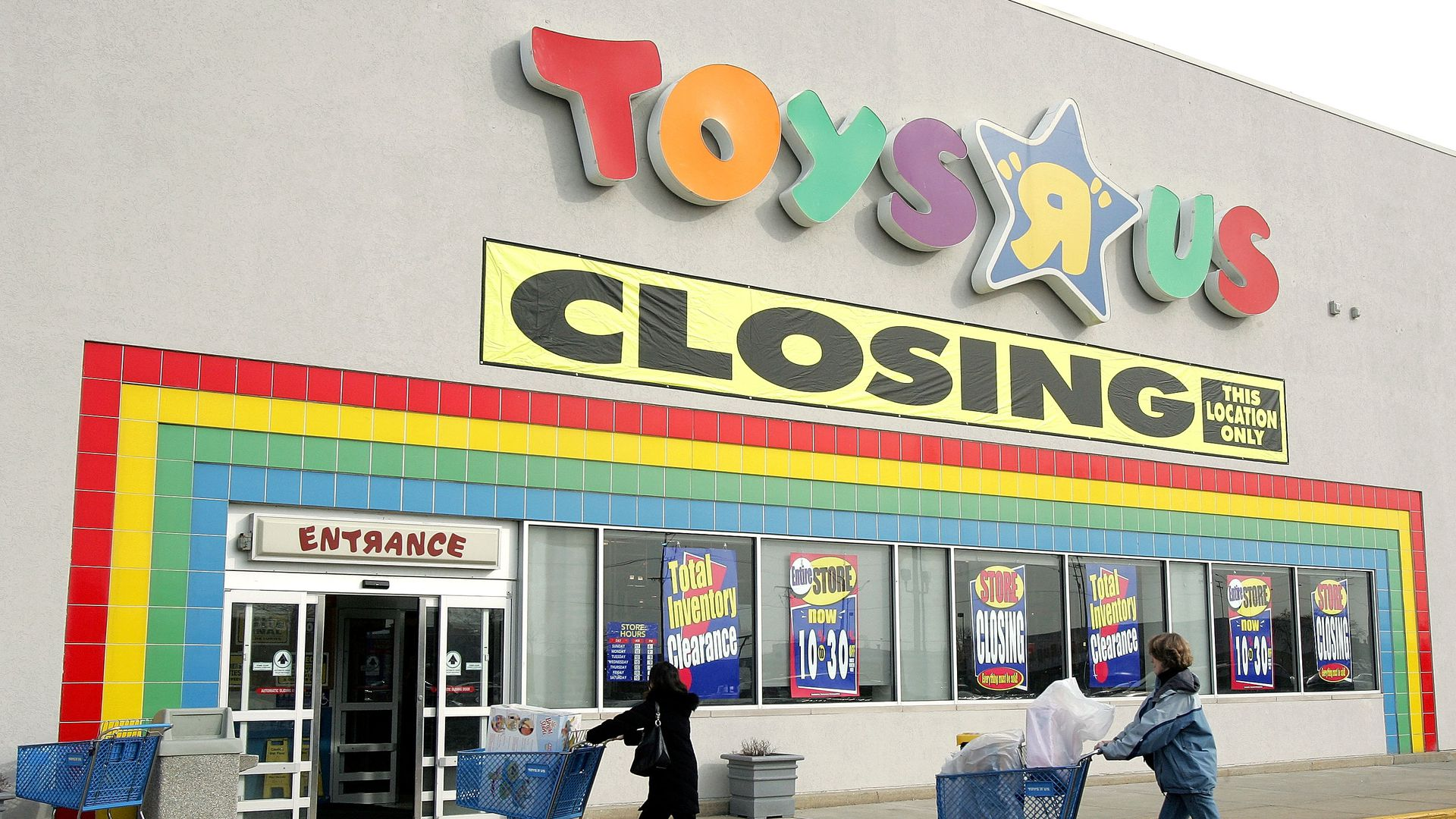 Toys R Us Games : The toys quot r us blame game axios