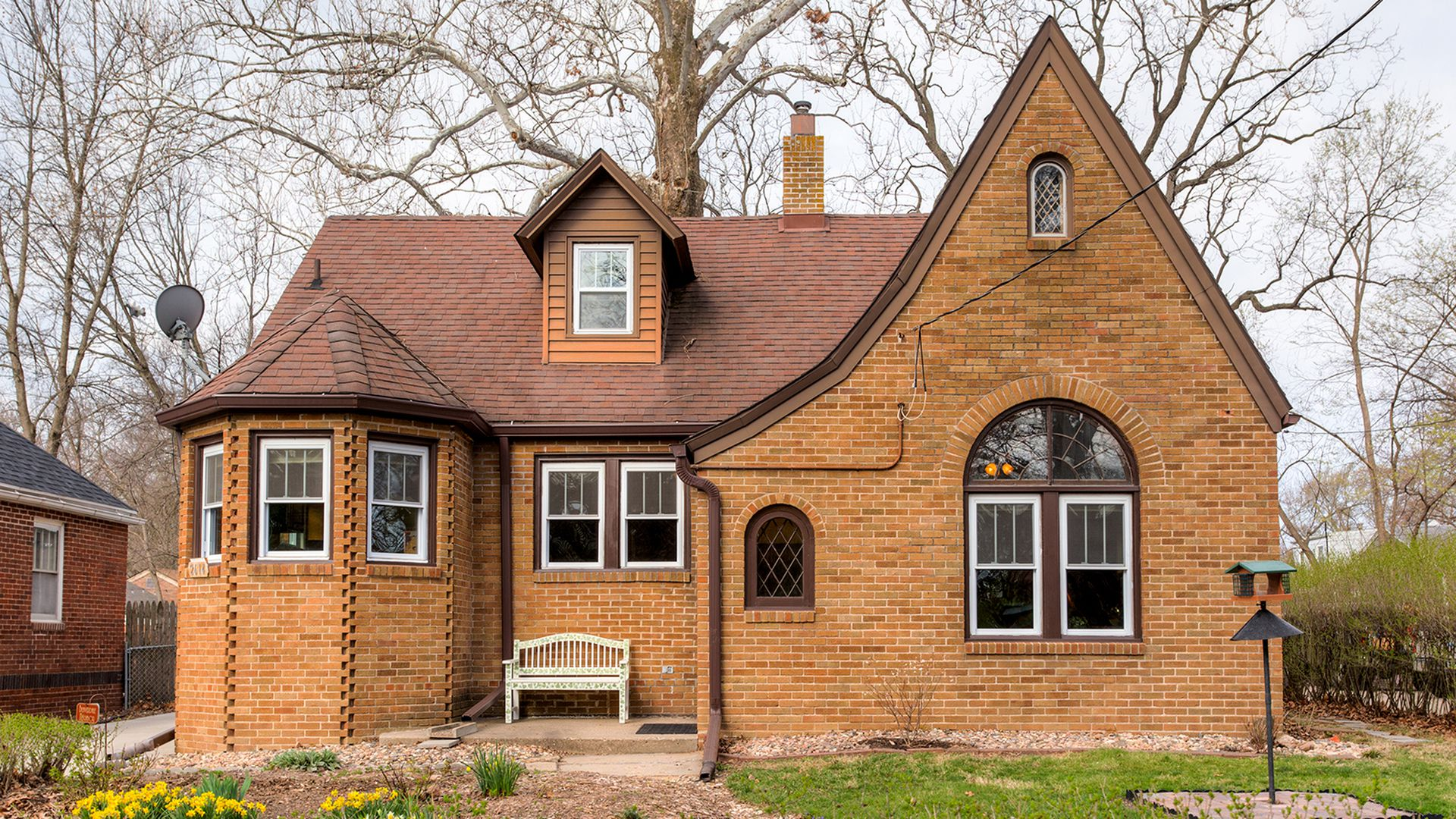 A cottage-style home in Beaverdale.