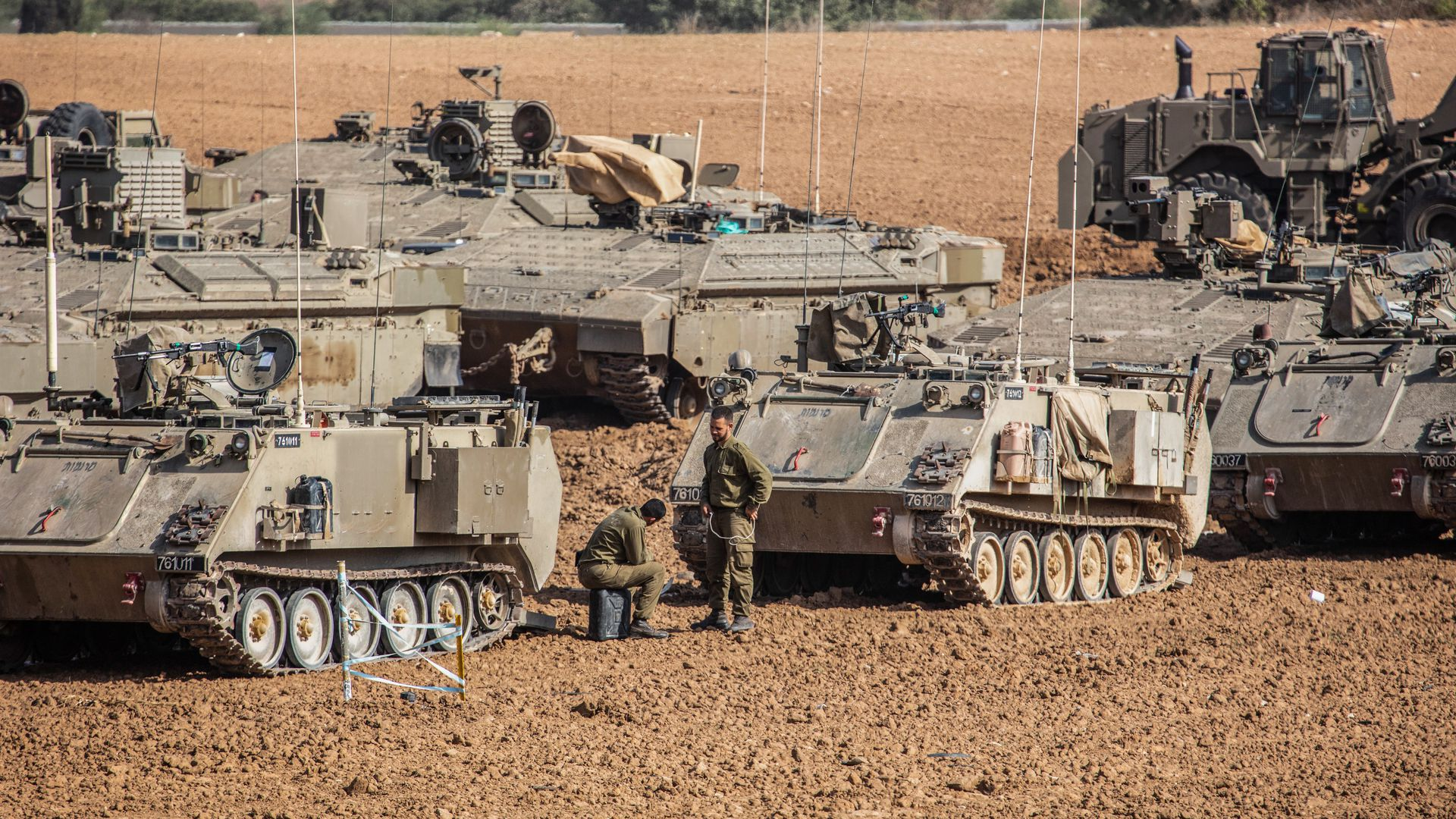 Israeli Defense Forces in the Gaza strip