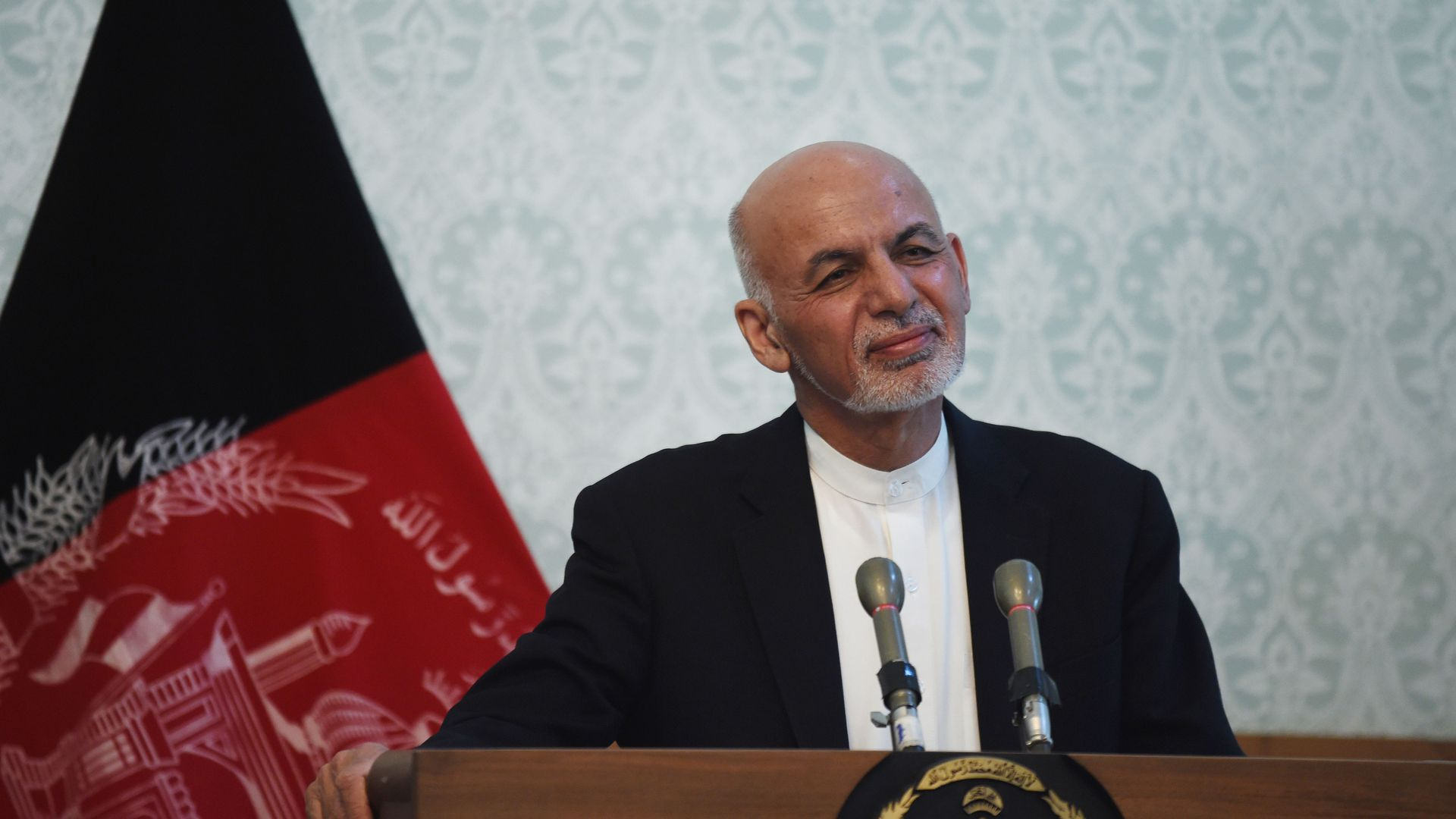 Afghanistan President Ashraf Ghani.