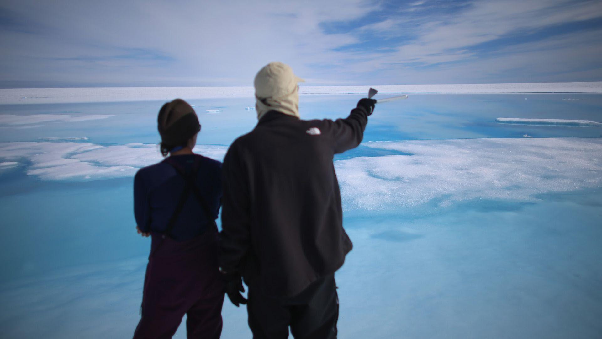 La capa de hielo de Groenlandia se derrite a un ritmo sin precedentes en los últimos 350 años o más - Axios