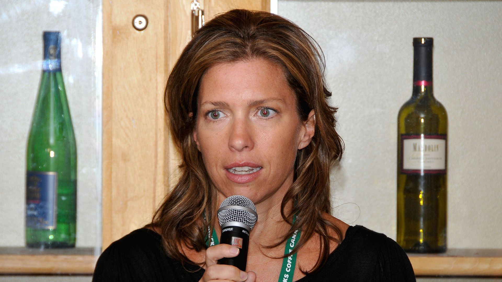 Christine Aylward at the 2009 Toronto International Film Festival.