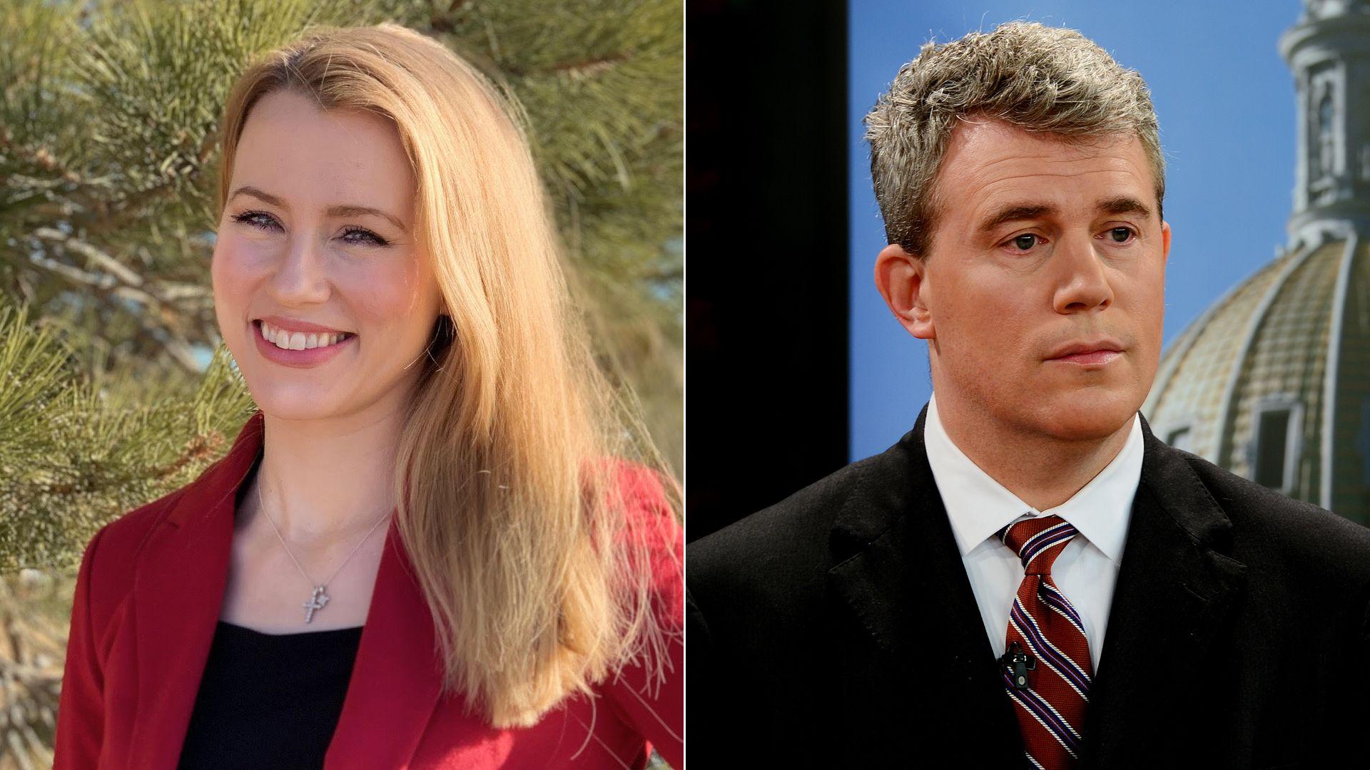 Kristi Burton Brown and Scott Gessler are running for Colorado GOP chair