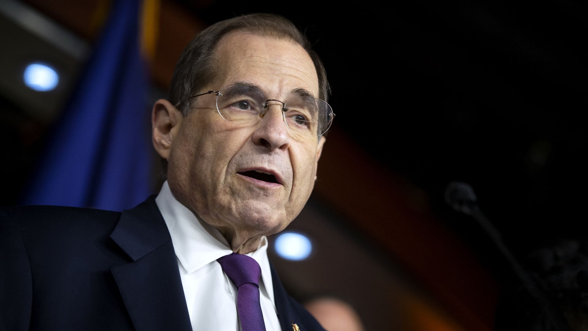 House Judiciary Committee Chairman Jerrold Nadler speaks to reporters on July 26, 2019.