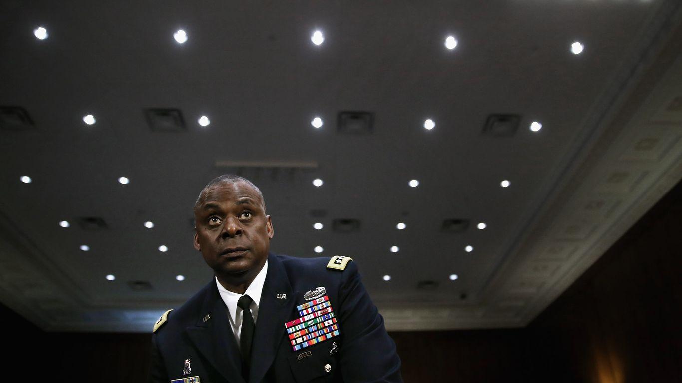 Scoop: Biden weighs retired general Lloyd Austin for Pentagon chief