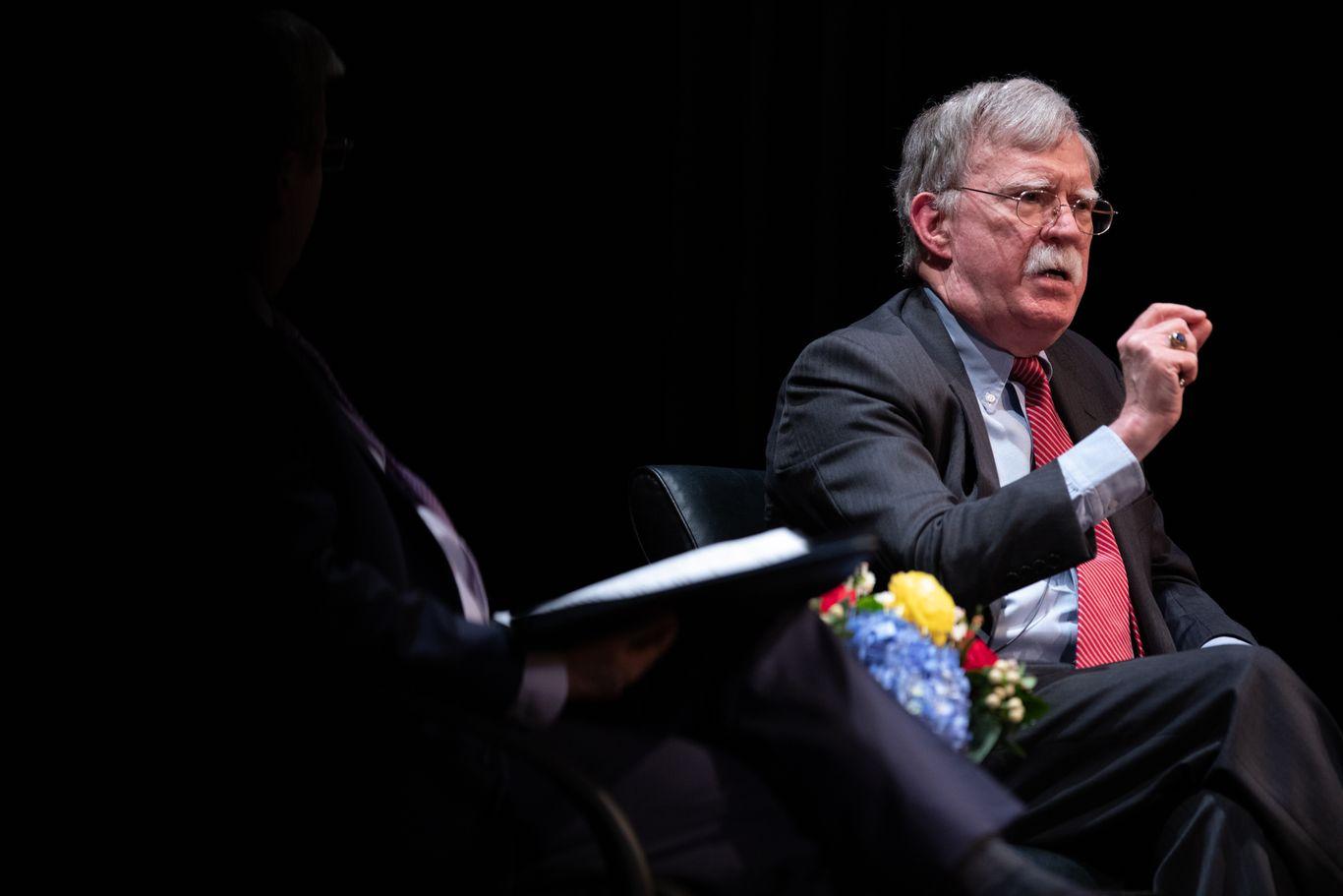 DOJ applies for emergency restraining order to block Bolton's book thumbnail
