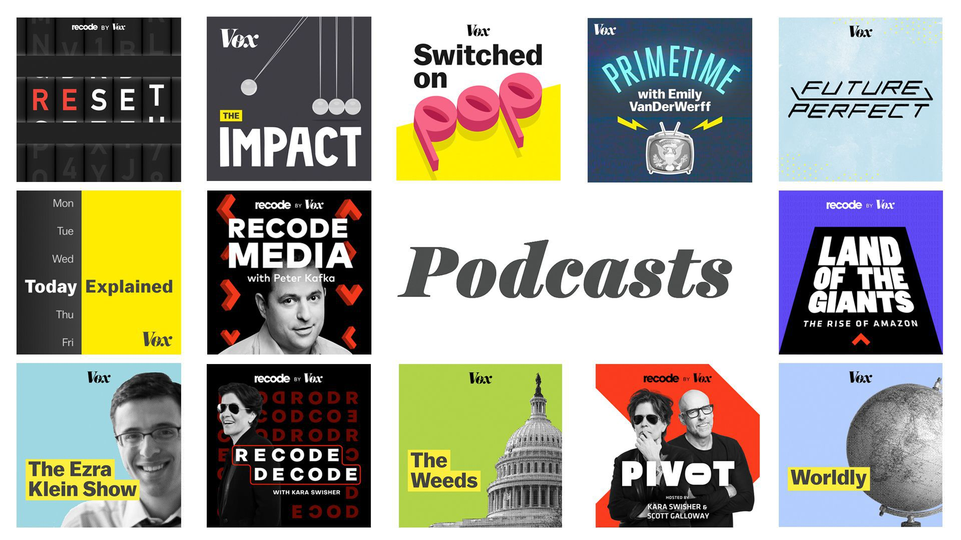 Vox Media now publishes more than 200 podcasts