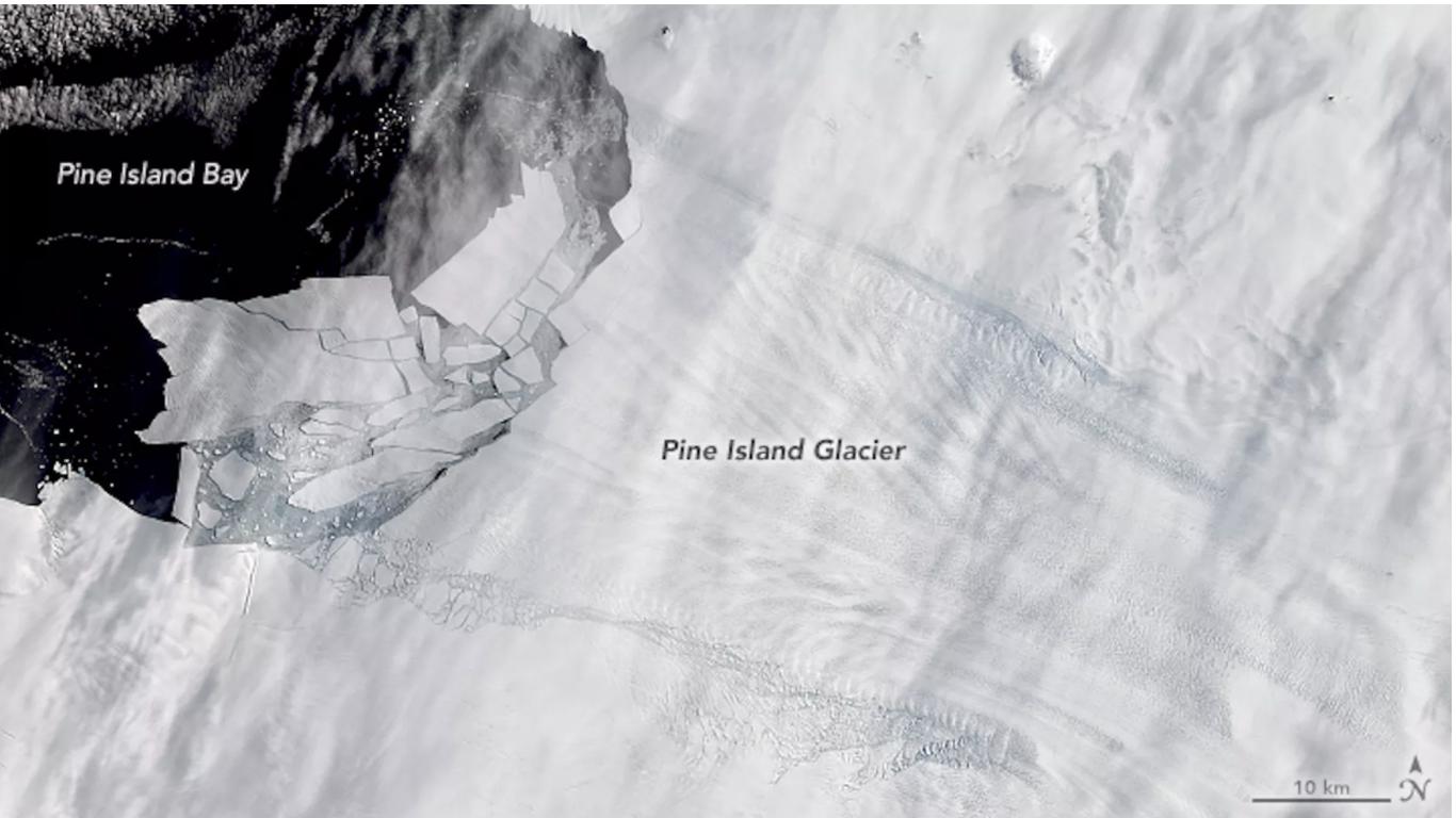 Study: Key Antarctic ice shelf is speeding up its collapse - Axios