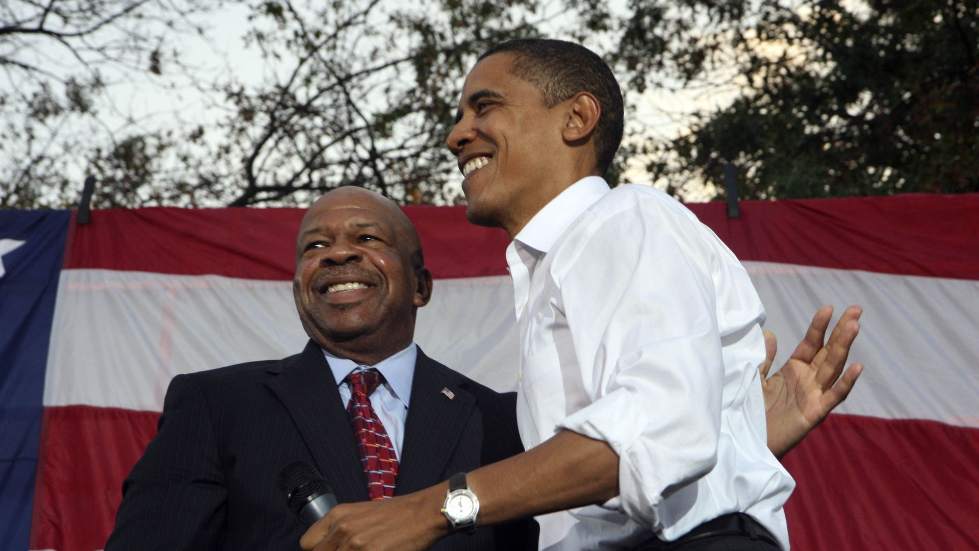 Elijah Cummings and Obama