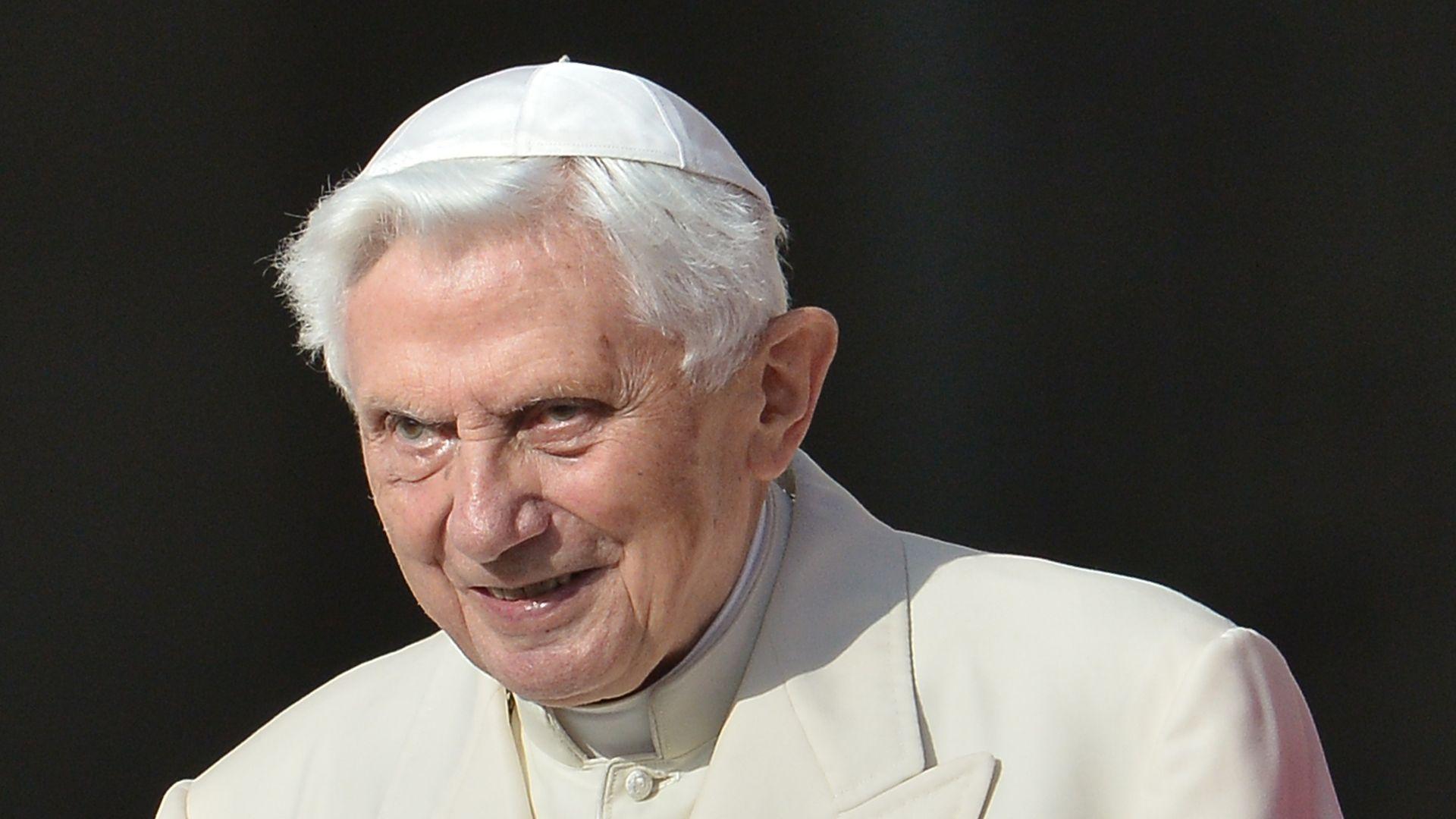 Retired Pope Benedict XVI
