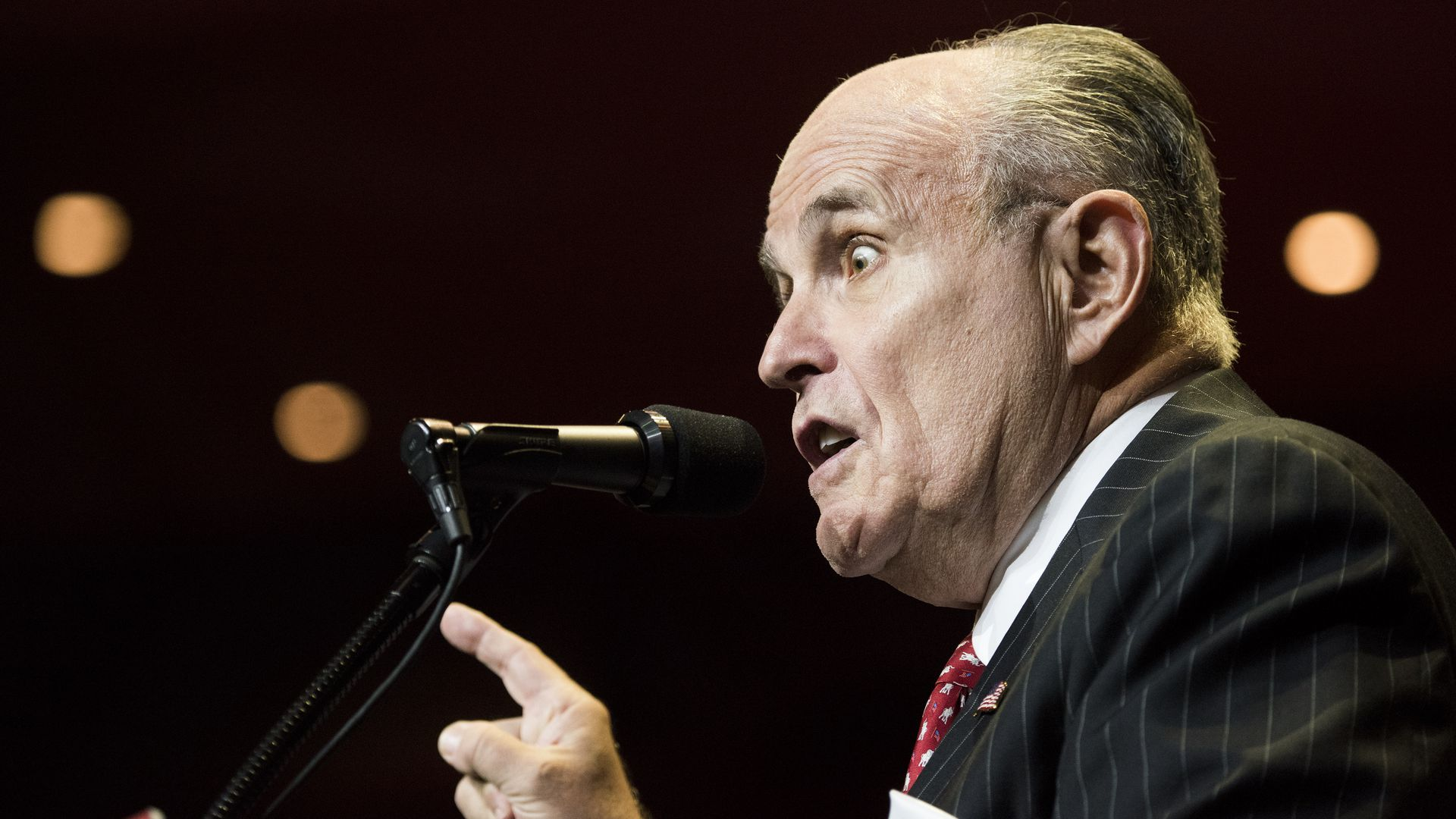 "Rudy Giuliani: ""It is impossible that the whistleblower is a hero and I'm not"""