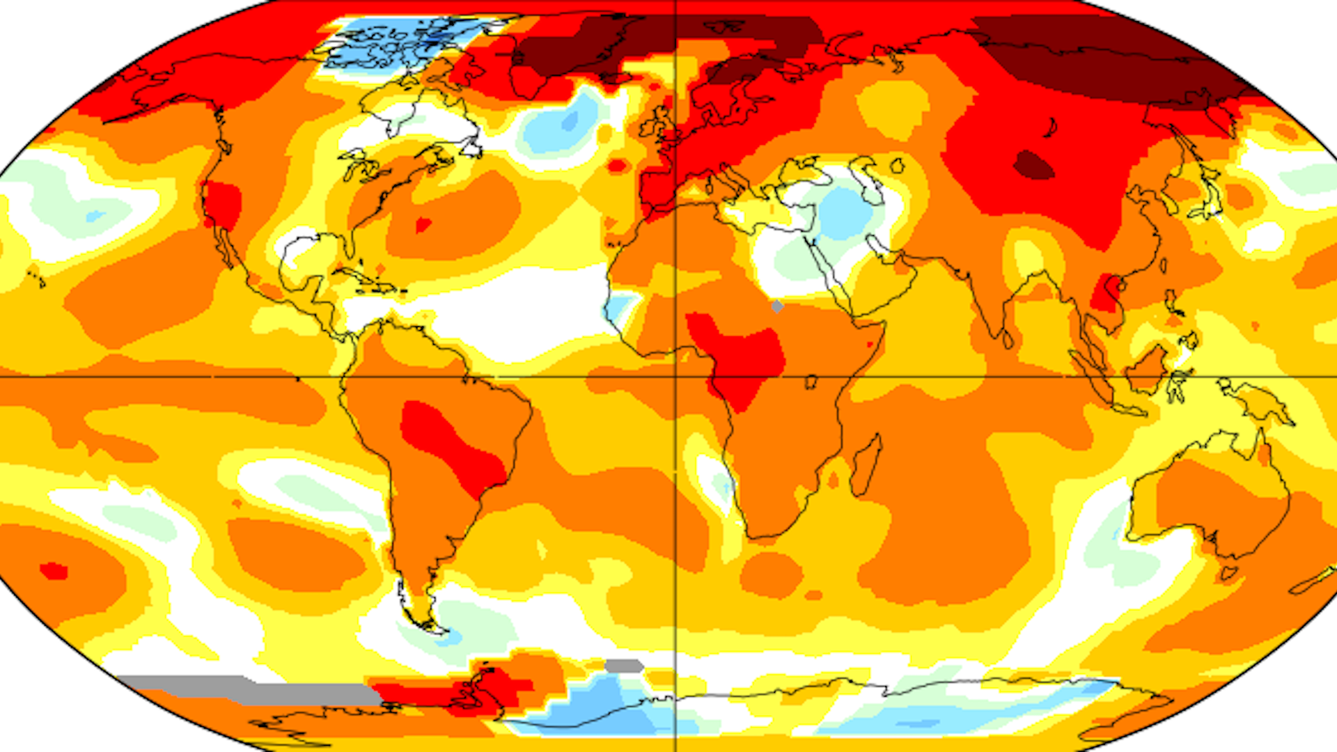 Earth just had its second-hottest April on record