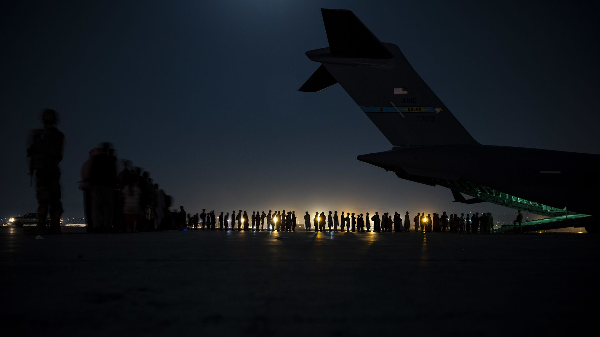 """Leaked Report: Afghan refugees """"living hell"""" at US Base Camp in Qatar"""