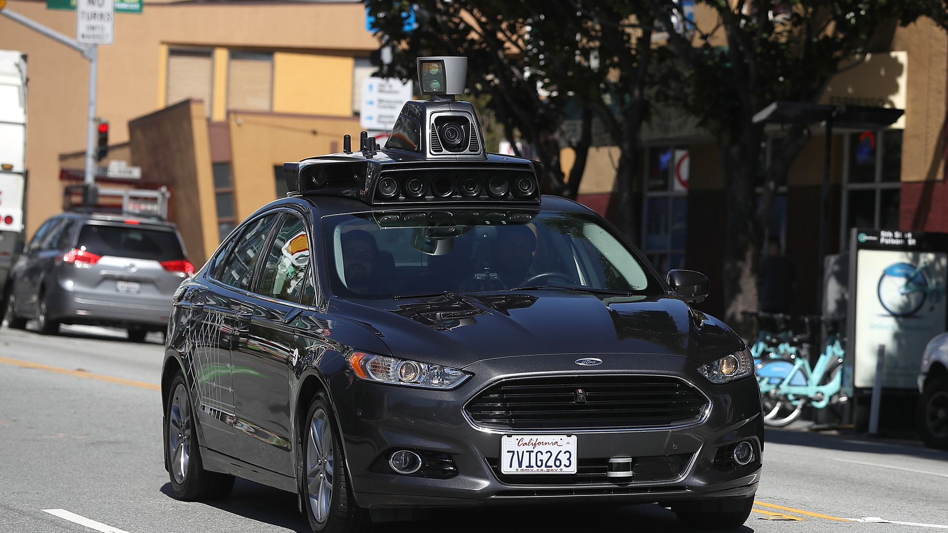 California gives green light to fully driverless car testing Axios