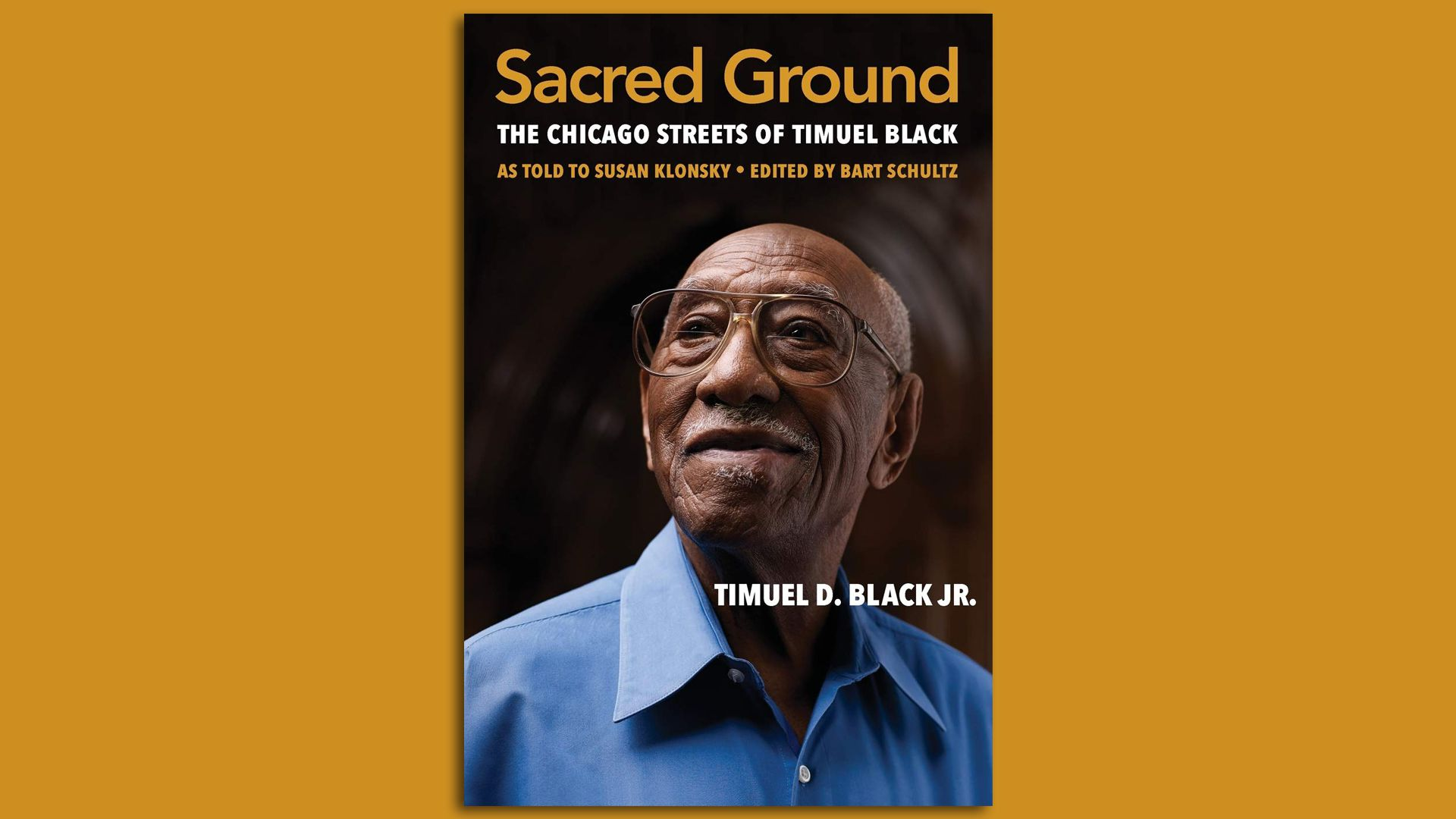 The book with Timuel Black on the cover.