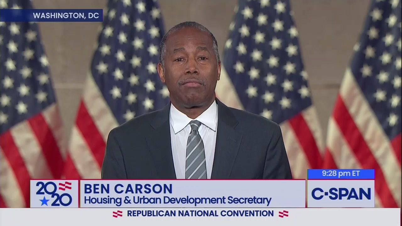 Ben Carson defends Trump against accusations of racism at RNC thumbnail