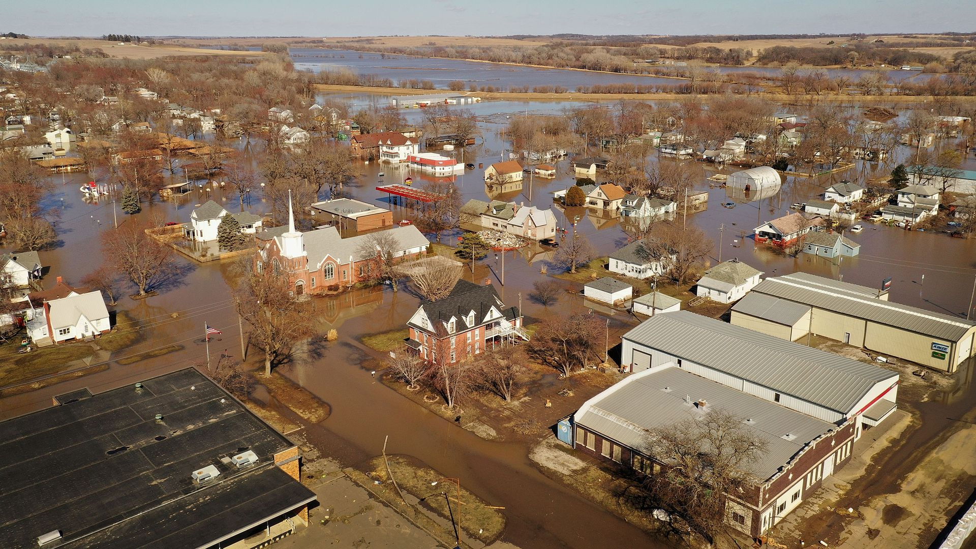 Iowa experienced record-breaking floods in 2019.