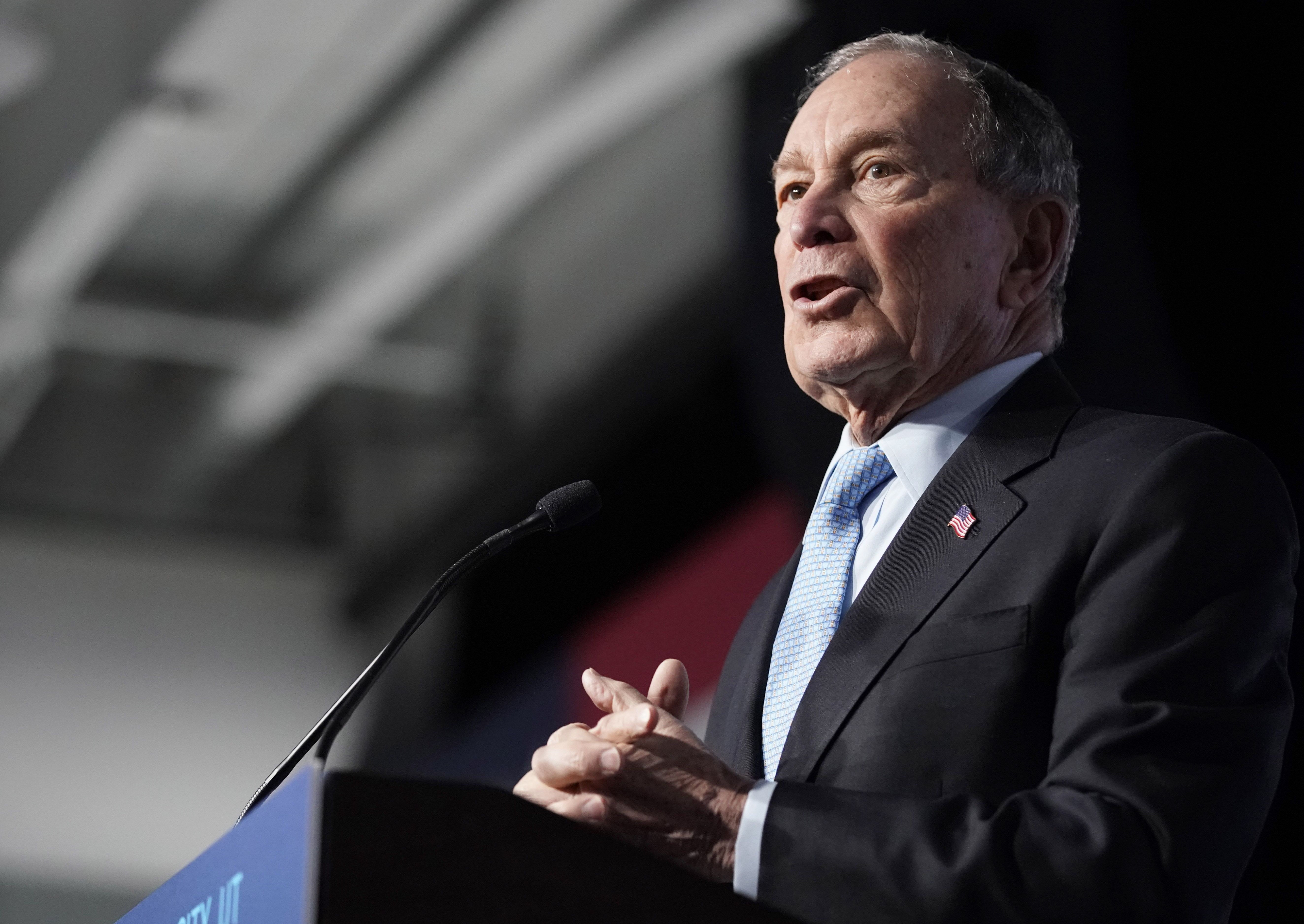 Poll: Bloomberg's support falls 3 points after Nevada debate - Axios