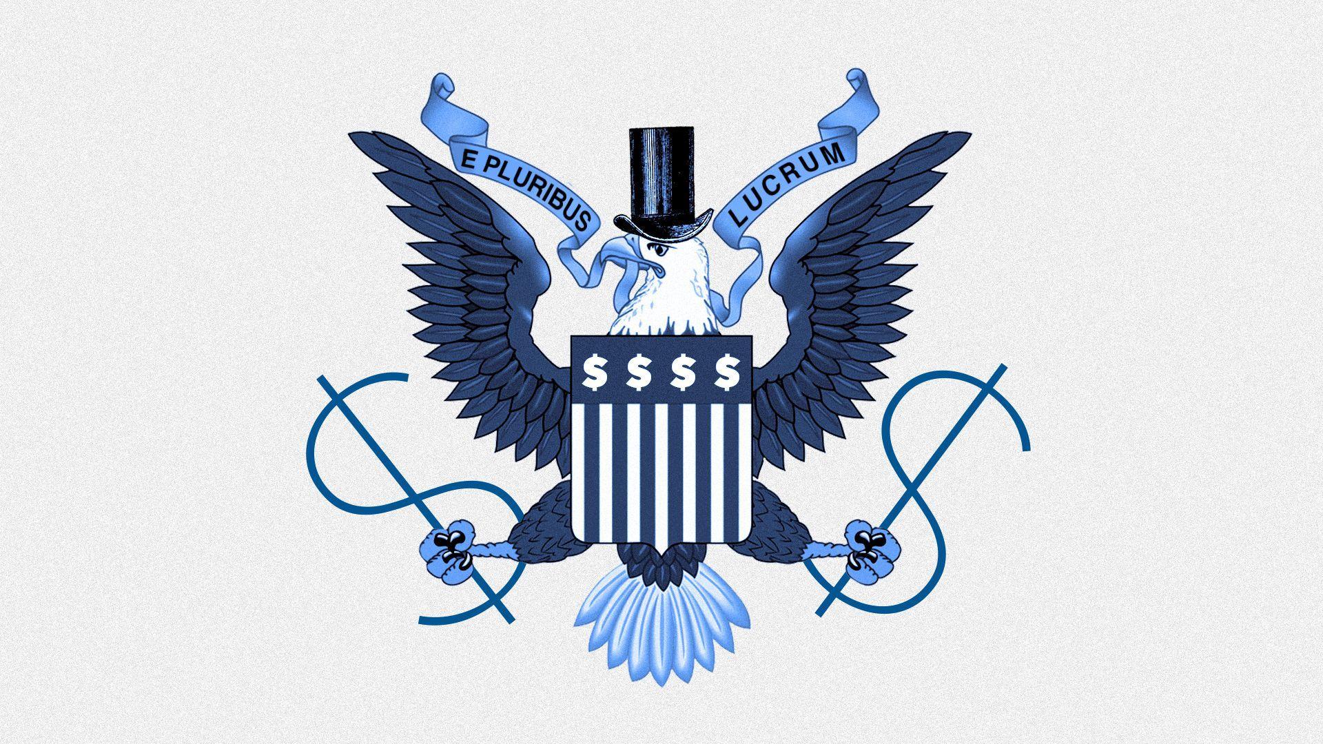 Illustratoin of U.S. seal
