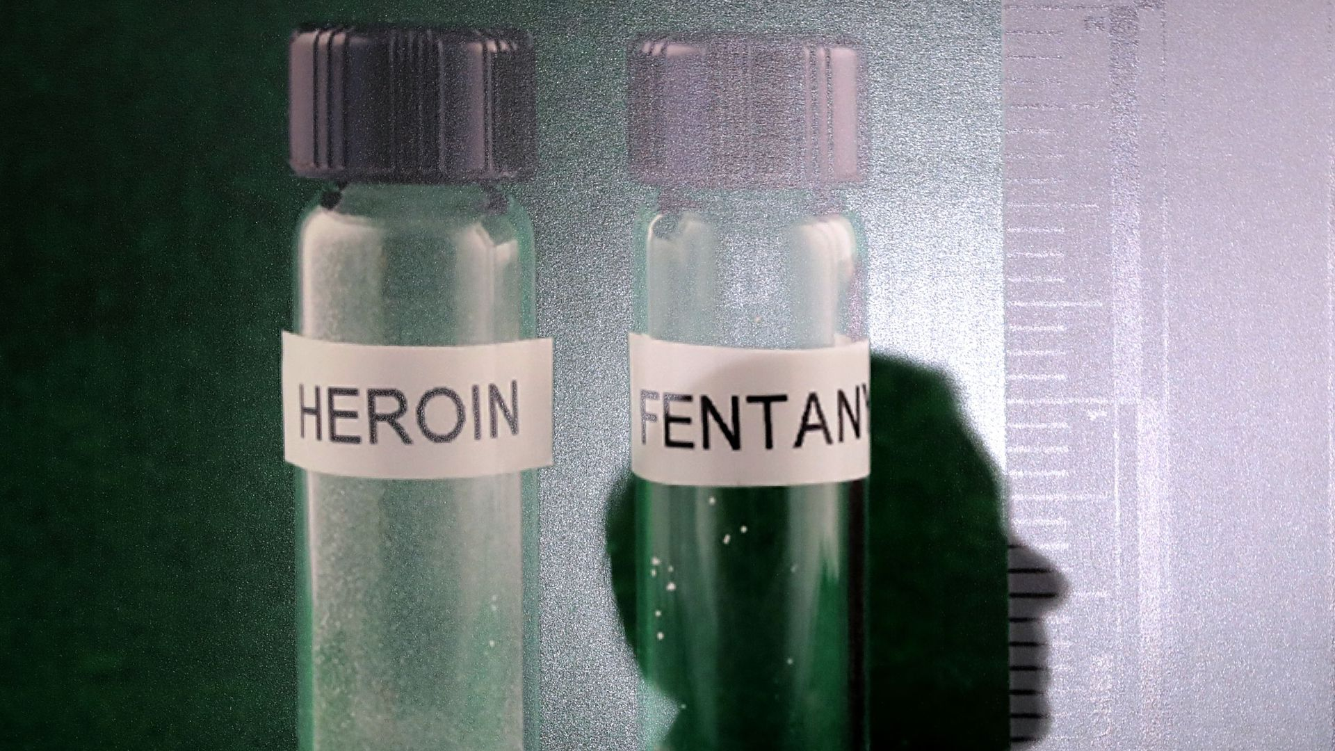 Vials of Heroin and Fentanyl