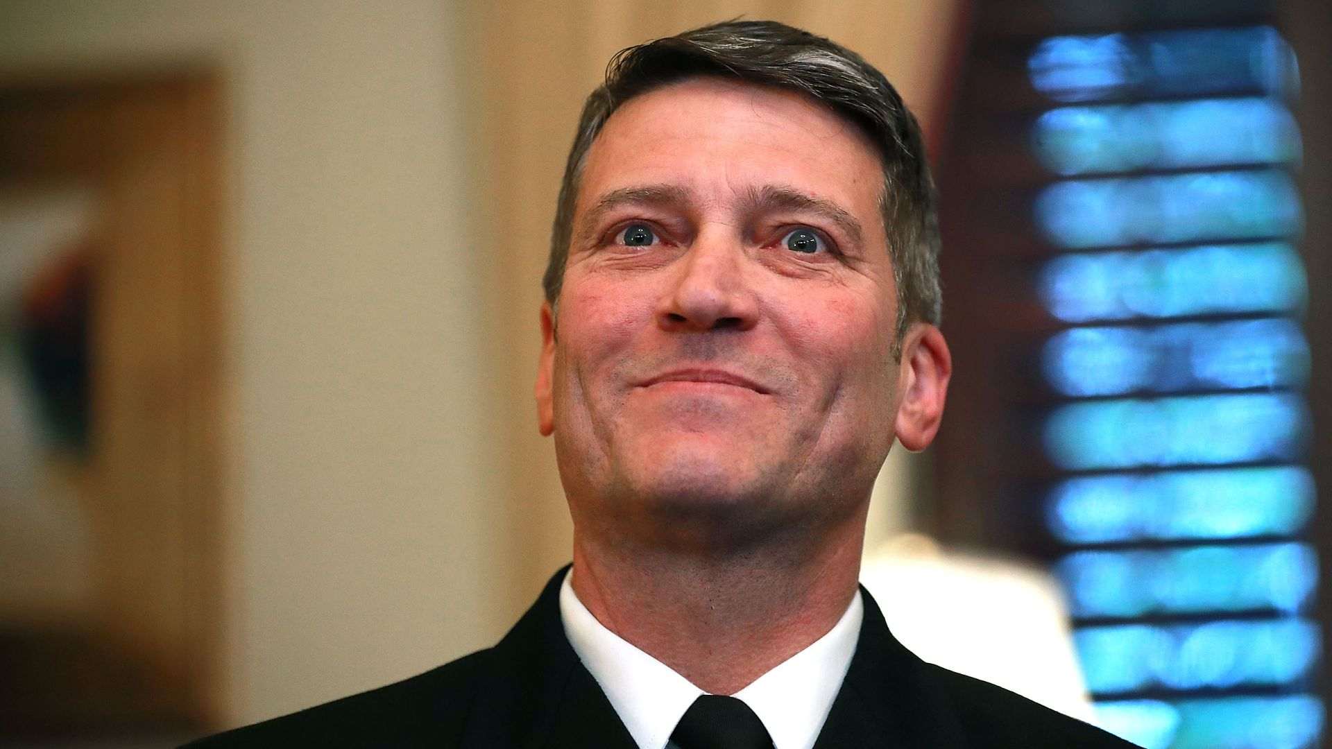 Physician to the President U.S. Navy Rear Admiral Ronny Jackson.