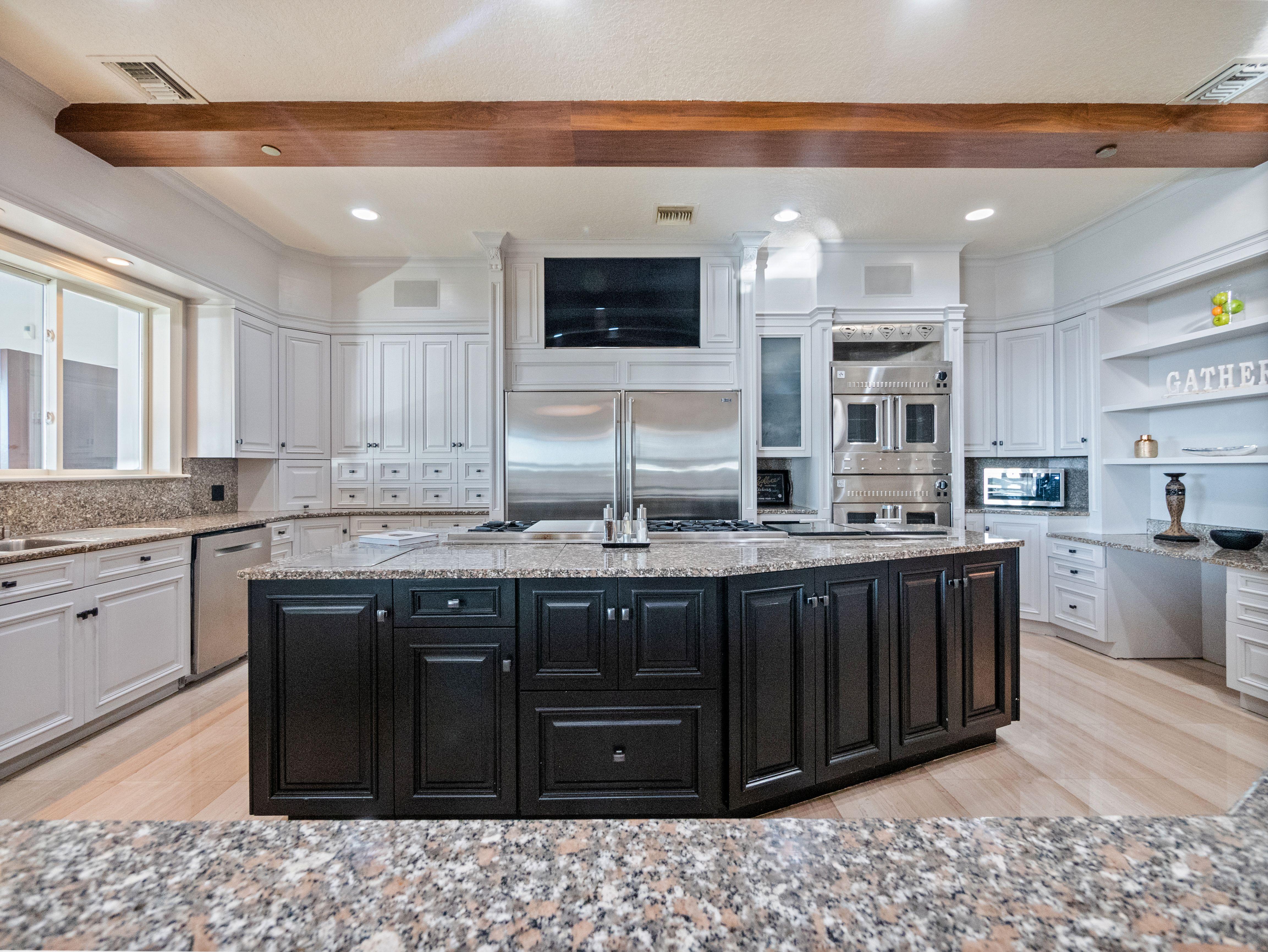 Shaq's Florida estate kitchen