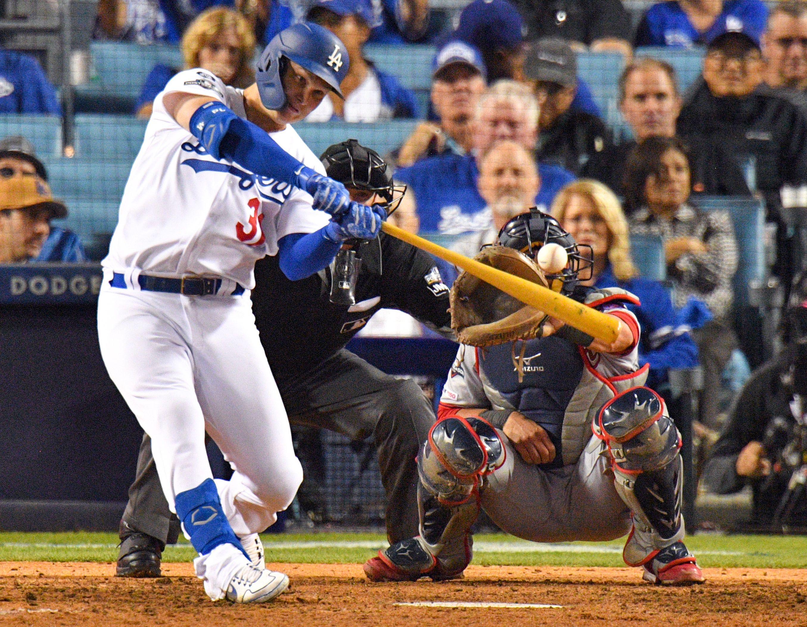 Joc Pederson hits a home run
