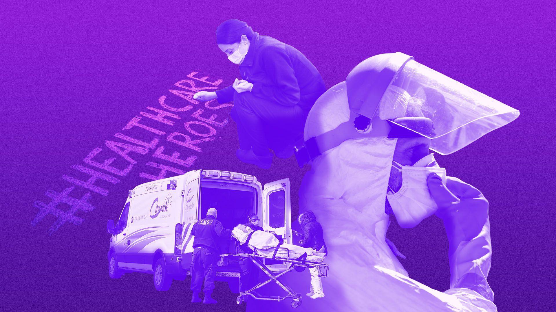 Special report: Health care workers vs. coronavirus