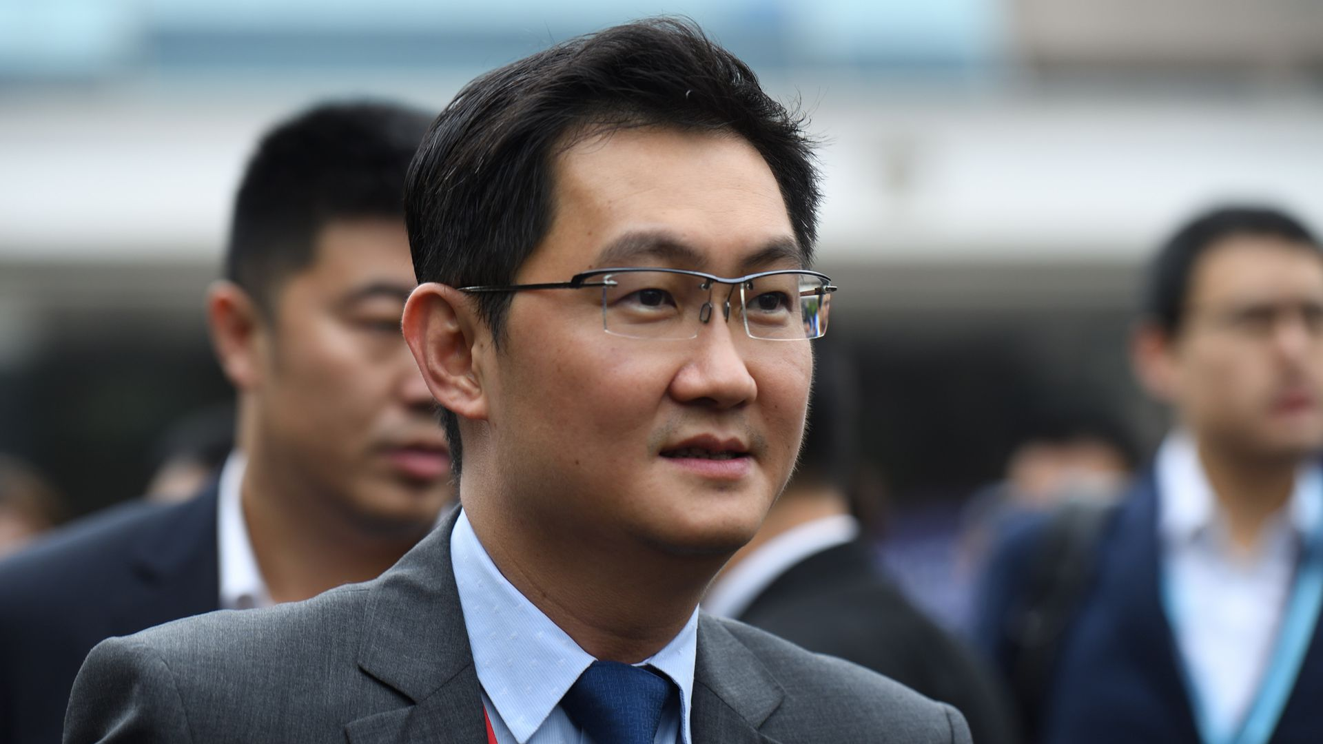 Pony Ma Huateng, CEO of Tencent