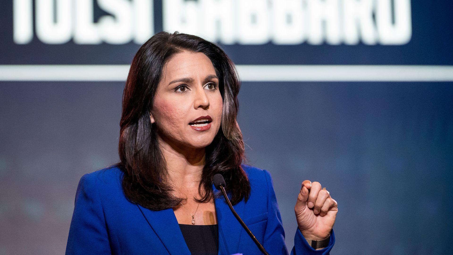 2020 candidate Rep. Tulsi Gabbard (D-Hawaii)