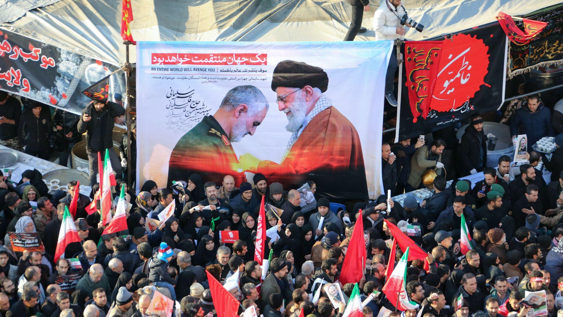 Iranian protestors