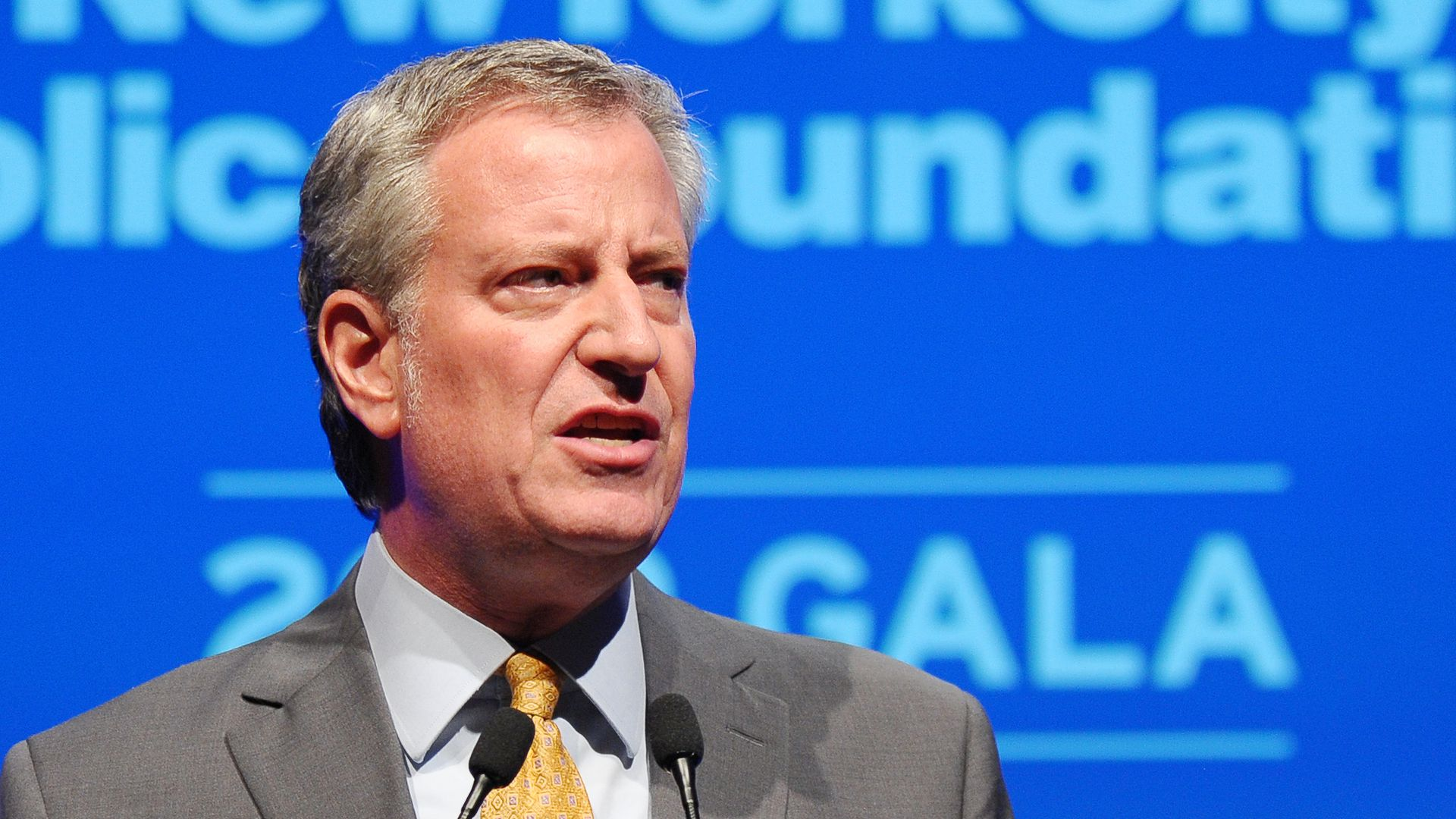 Bill de Blasio on the issues, in under 500 words