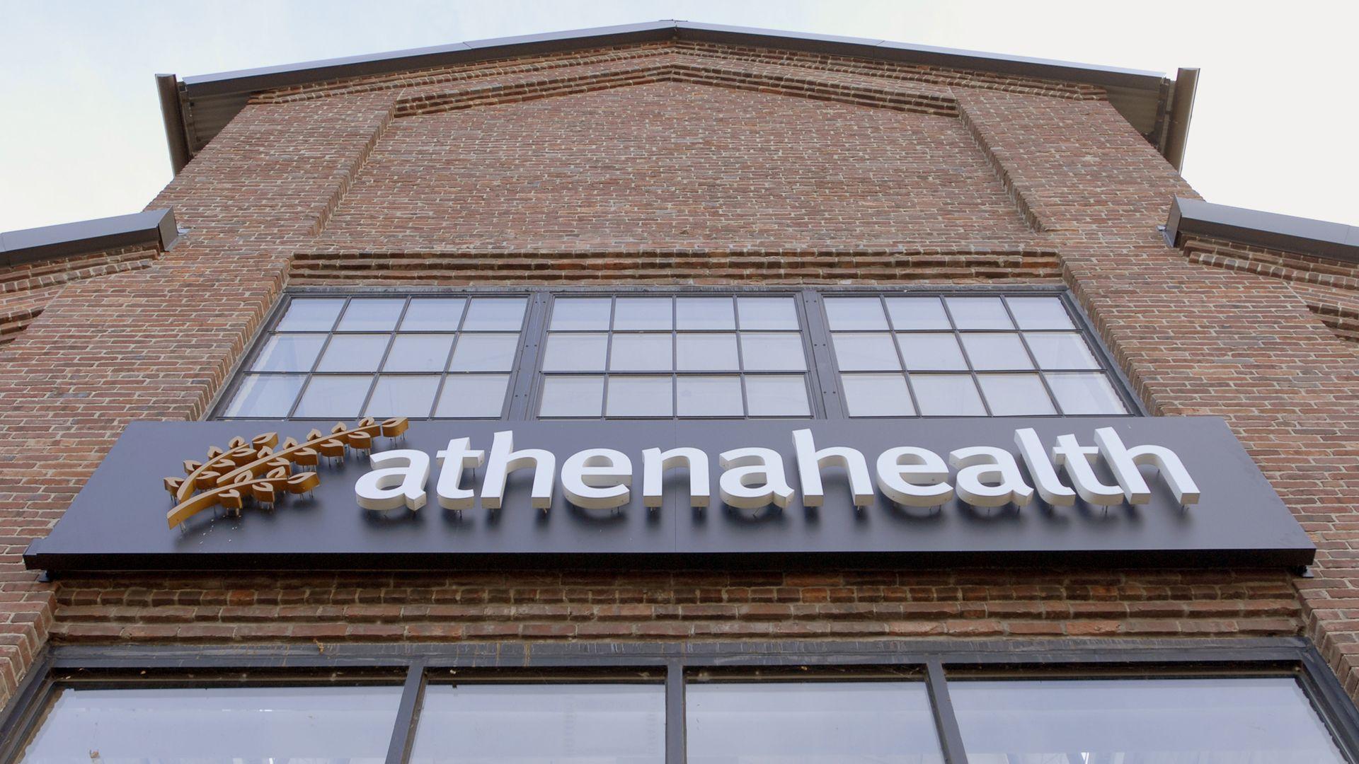 Athenahealth headquarters building in Massachusetts.