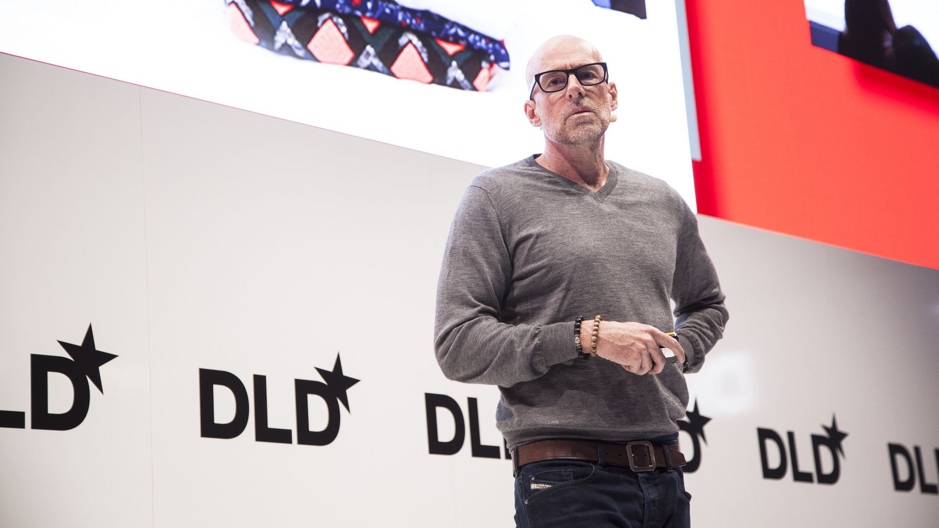 Scott Galloway, speaking at DLD18