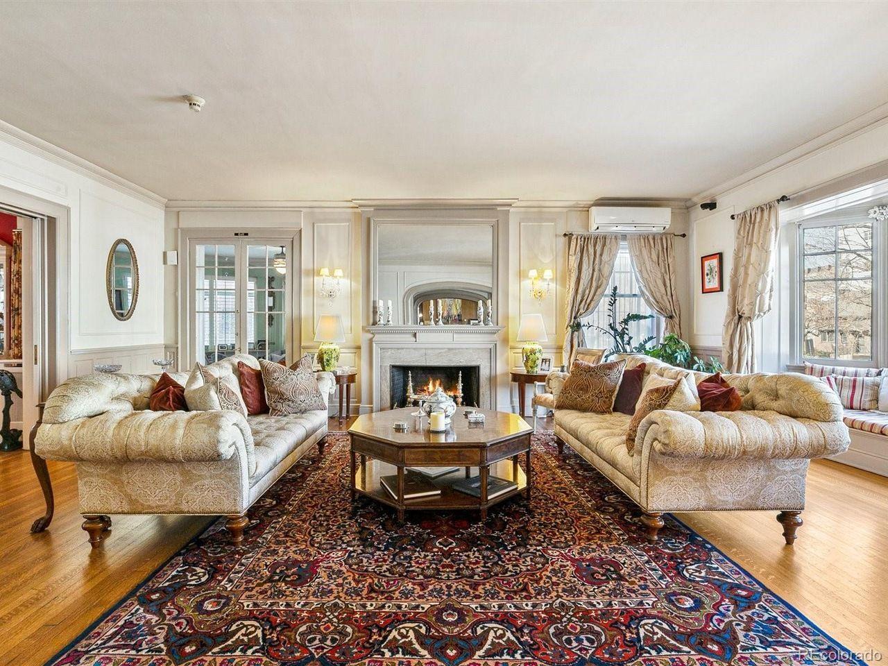 1350 N. Logan St formal living room
