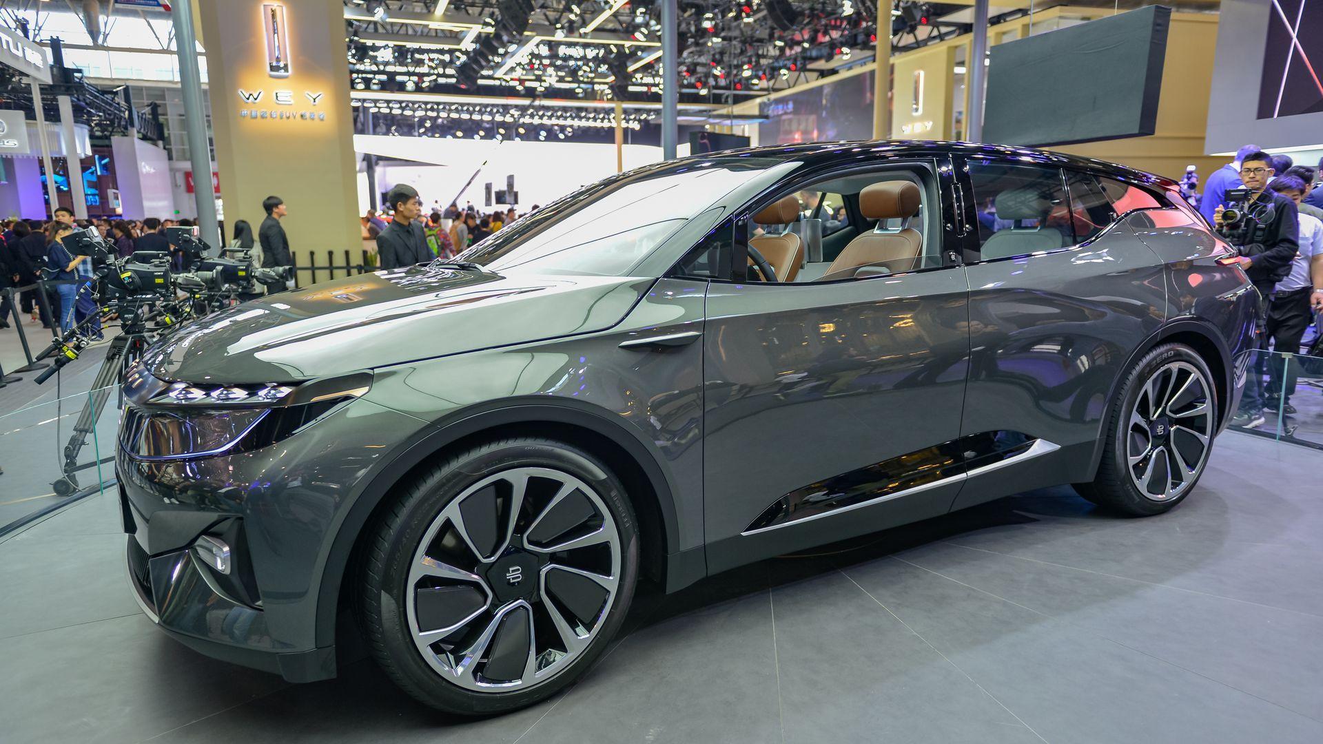 Byton electric vehicle