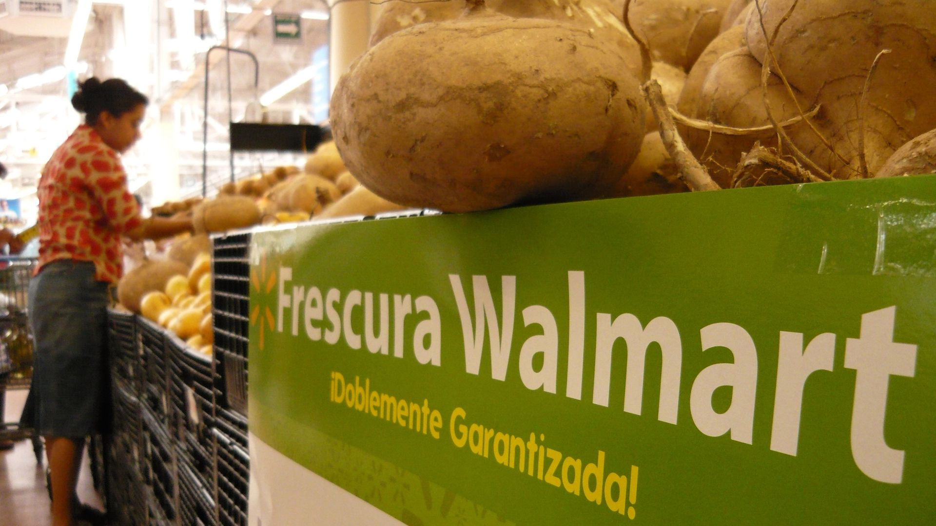 Walmart buys Mexican grocery delivery startup - Axios