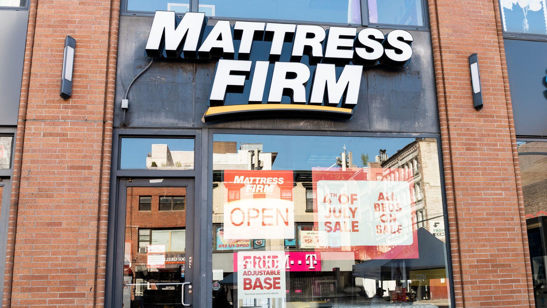 A Mattress Firm store.