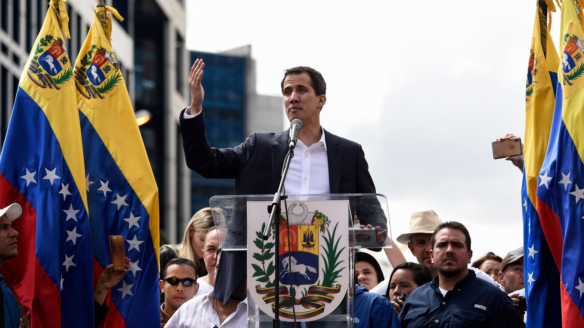 Venezuela's National Assembly head Juan Guaido.