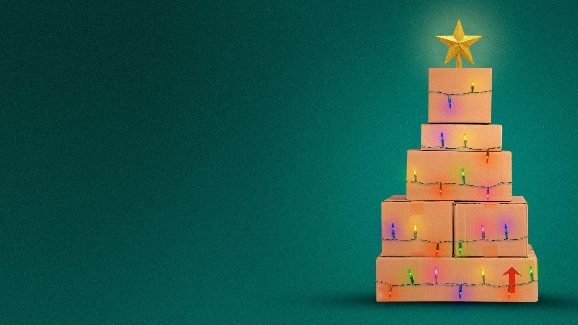 The coronavirus is reshaping the holiday shopping season   Axios