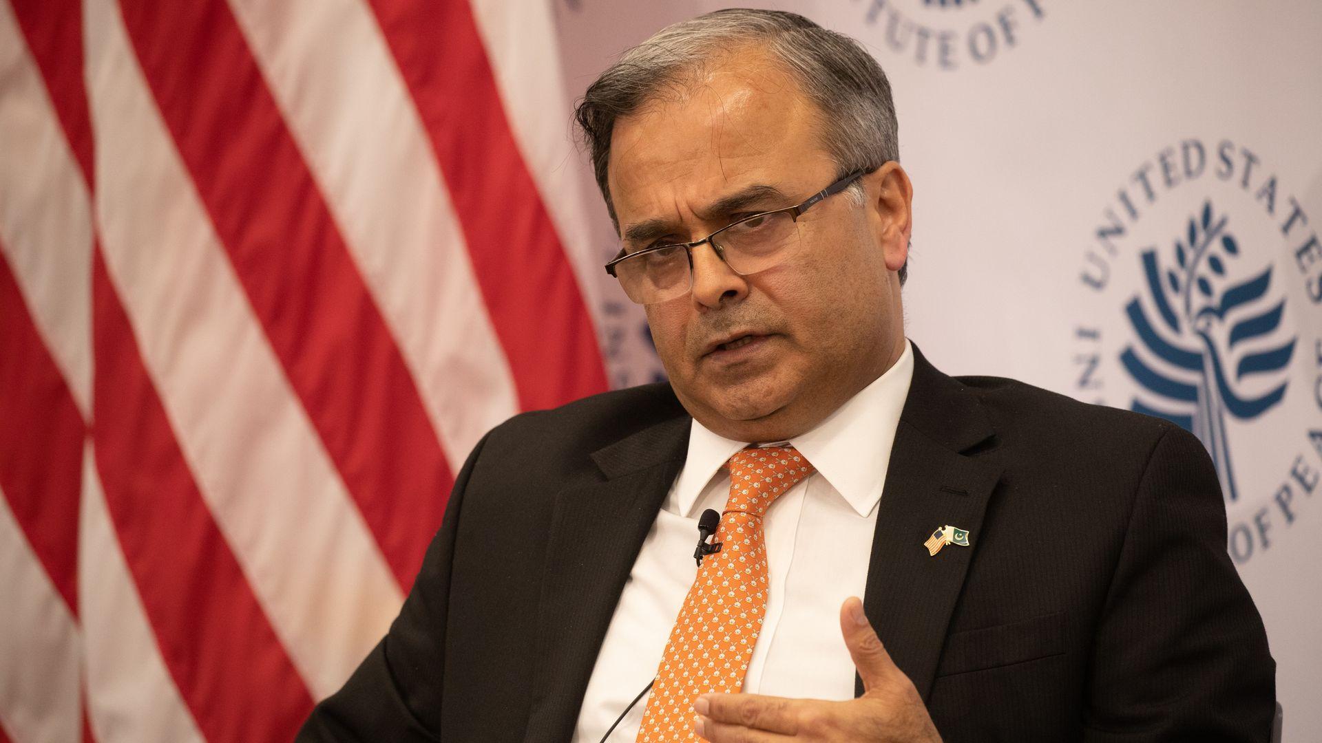 Pakistan's Ambassador to the U.S. Asad Majeed Khan.
