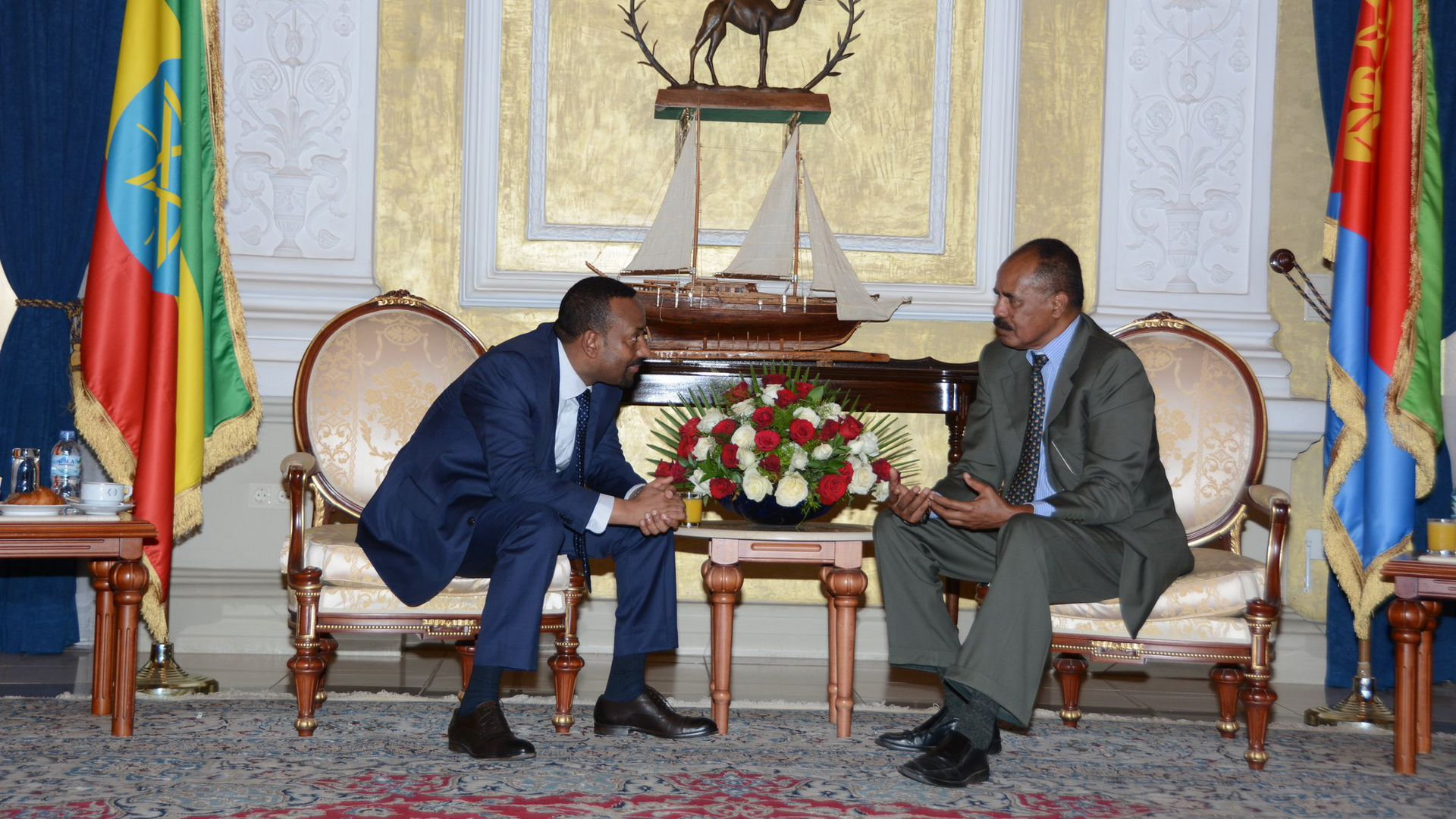 Ethiopian Prime Minister Abiy Ahmed and Erirean President Isaias Afwerki