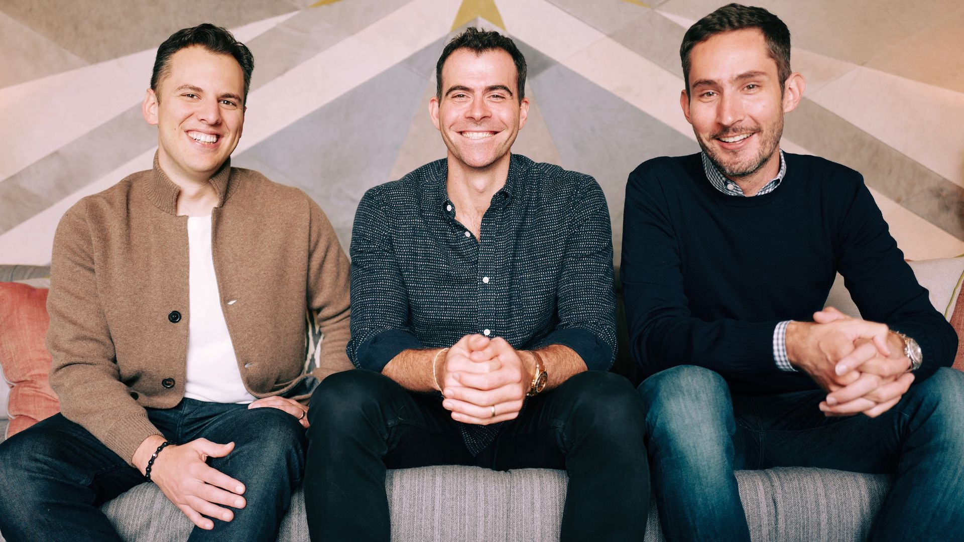 Mike Krieger, Adam Mosseri, Kevin Systrom