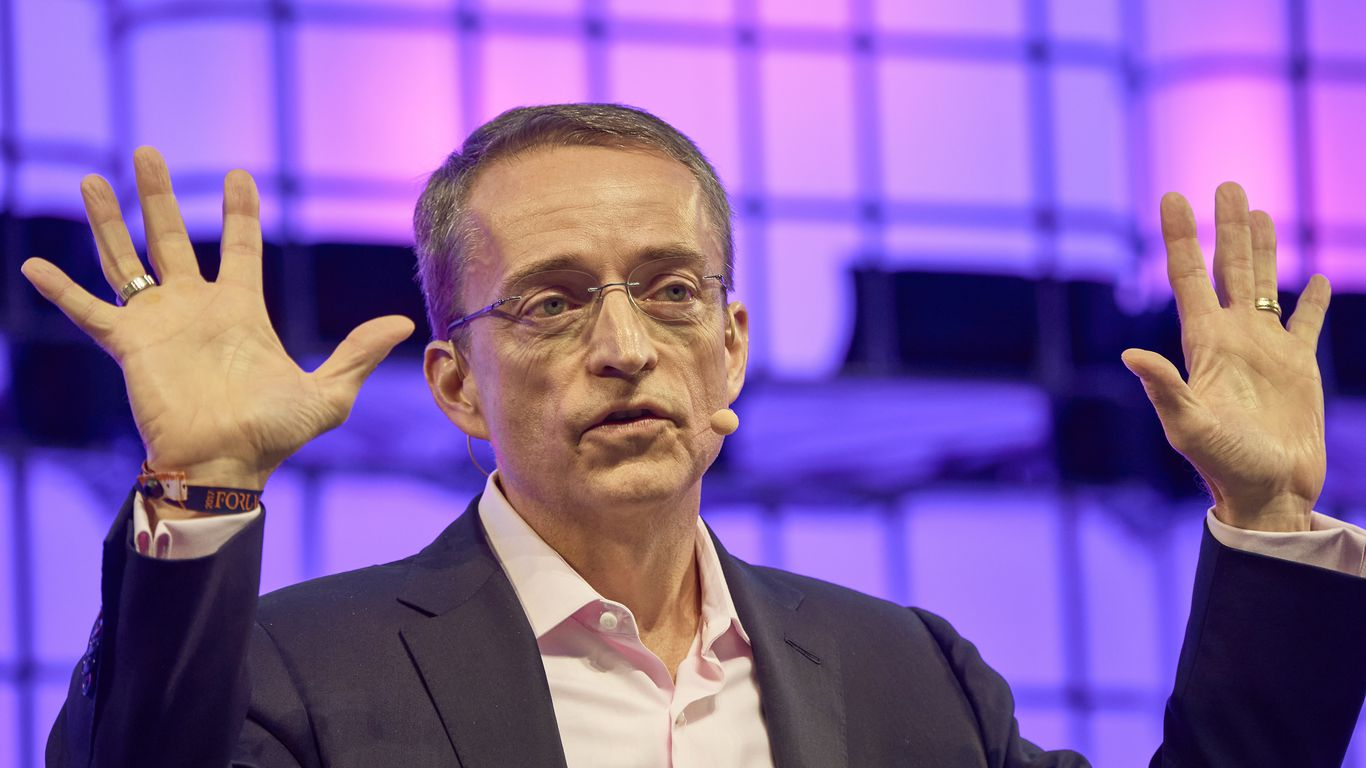 """Intel CEO calls for """"moonshot"""" to boost U.S. role in chipmaking thumbnail"""